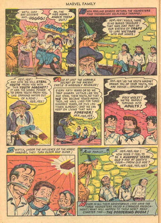 The Marvel Family issue 69 - Page 10