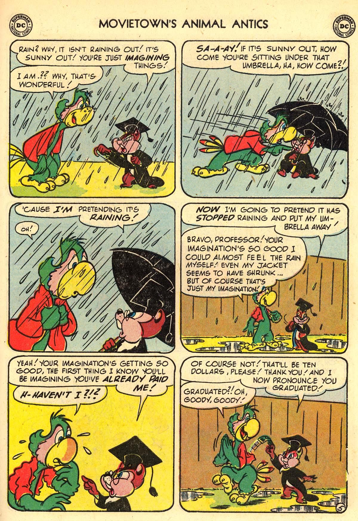 Read online Animal Antics comic -  Issue #33 - 39