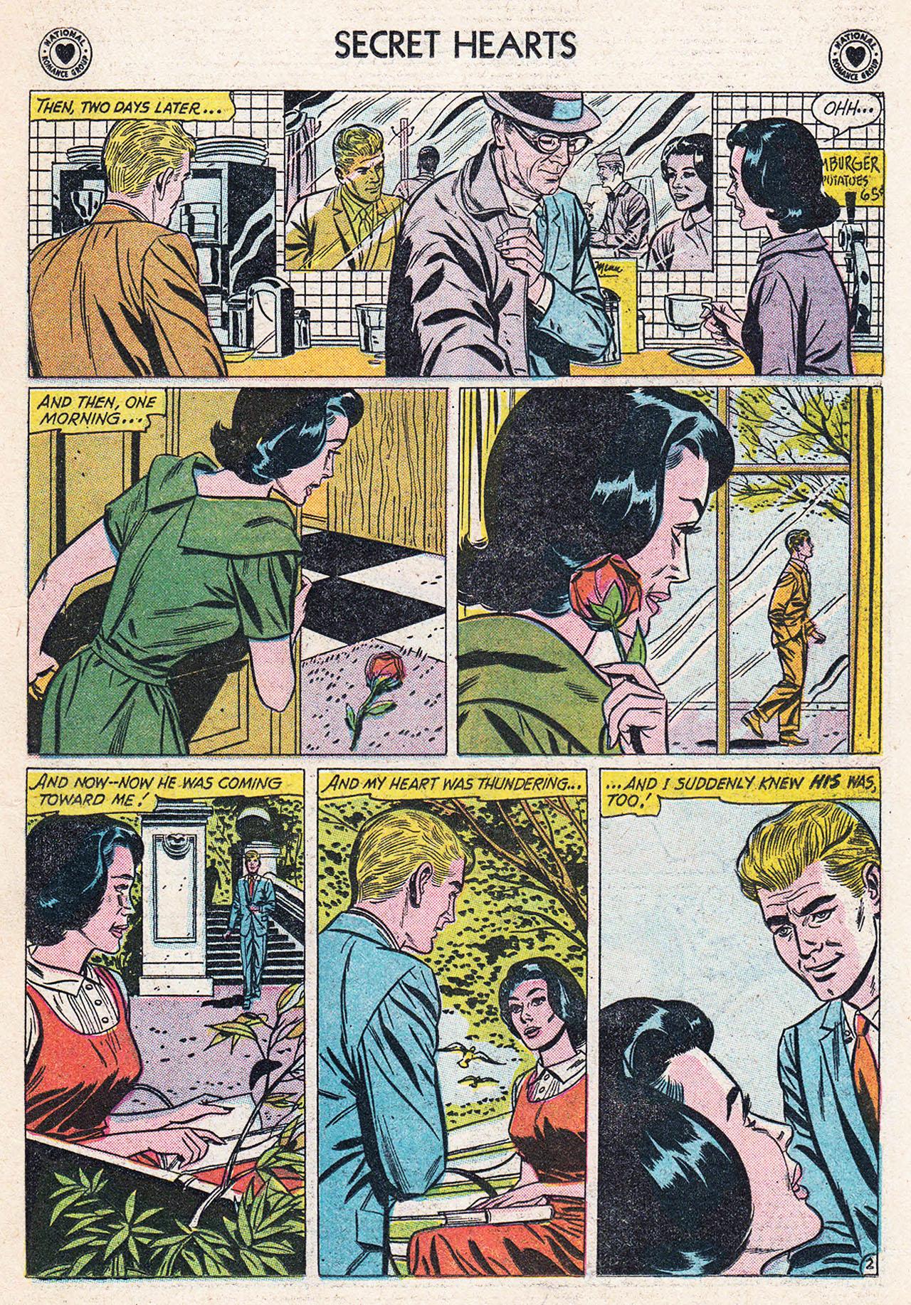 Read online Secret Hearts comic -  Issue #75 - 19