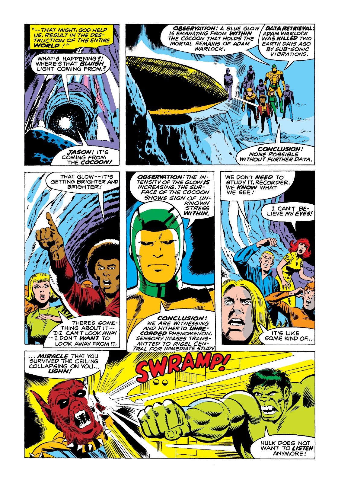 Read online Marvel Masterworks: The Incredible Hulk comic -  Issue # TPB 10 (Part 2) - 61