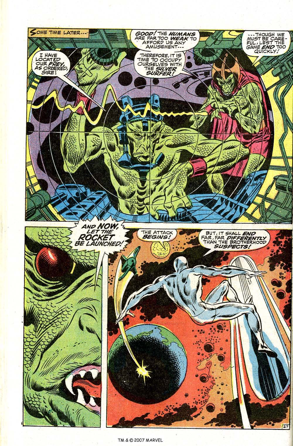 Read online Silver Surfer (1968) comic -  Issue #2 - 36