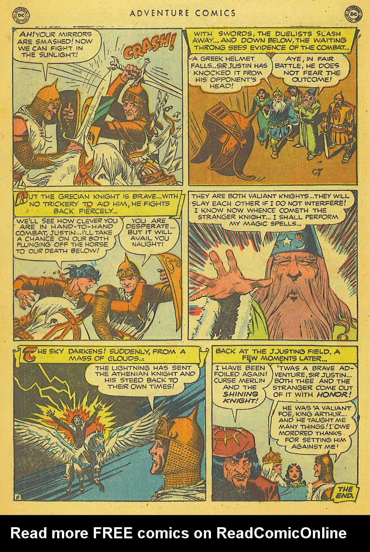 Read online Adventure Comics (1938) comic -  Issue #153 - 21