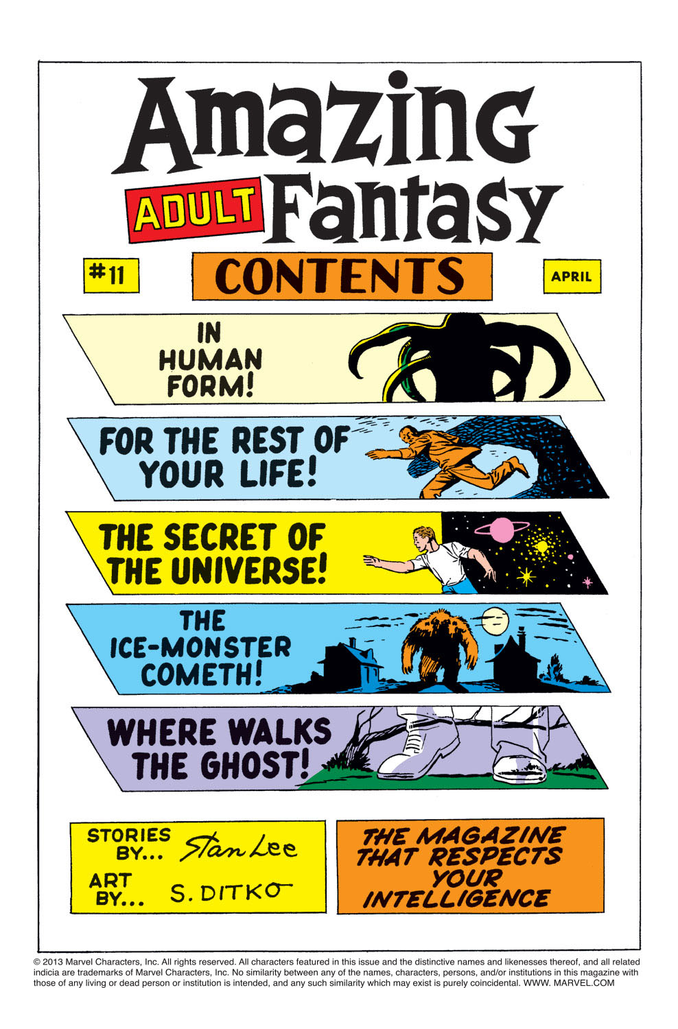 Read online Amazing Adult Fantasy comic -  Issue #11 - 2