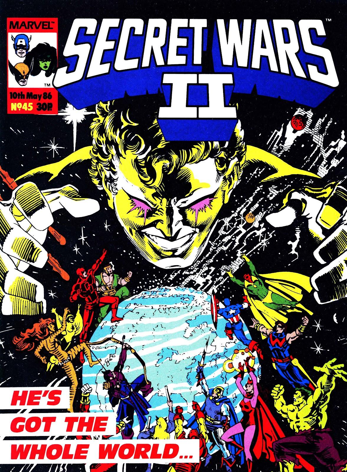 Secret Wars (1985) issue 45 - Page 1