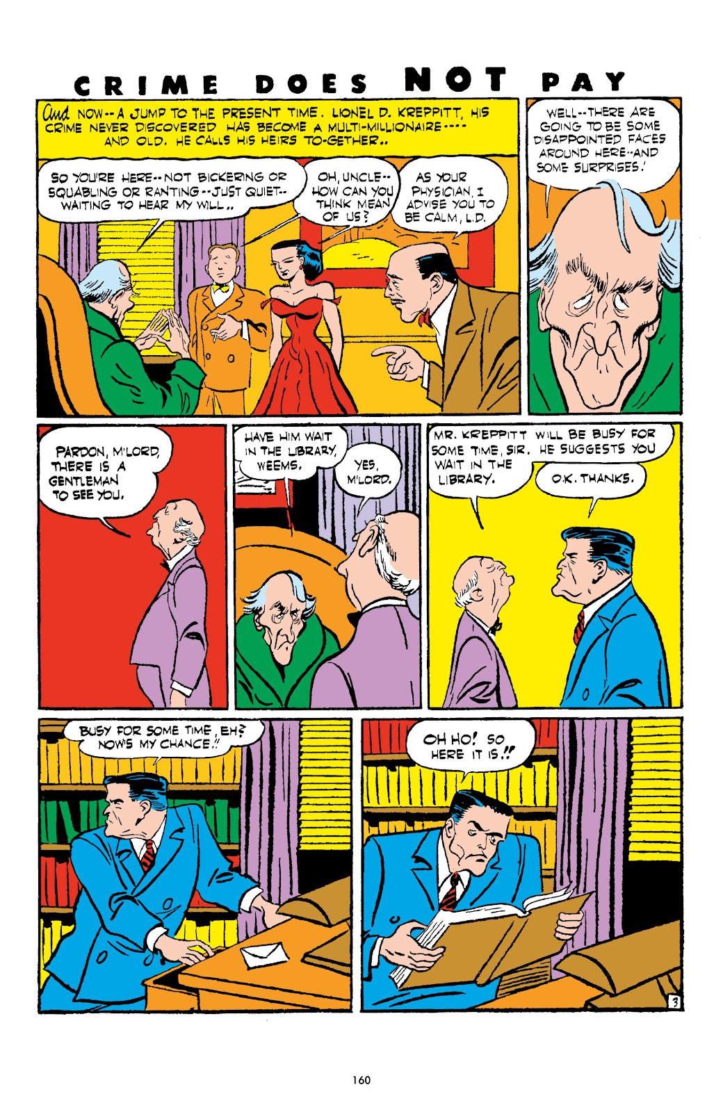 Read online Crime Does Not Pay Archives comic -  Issue # TPB 4 (Part 2) - 60
