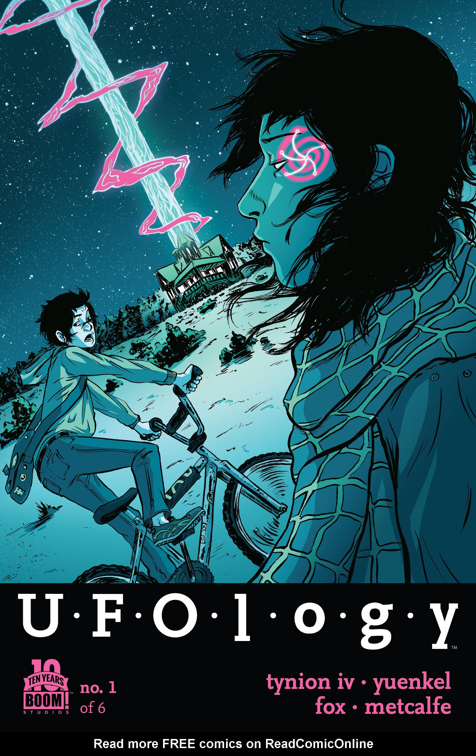 Read online UFOlogy comic -  Issue #1 - 1