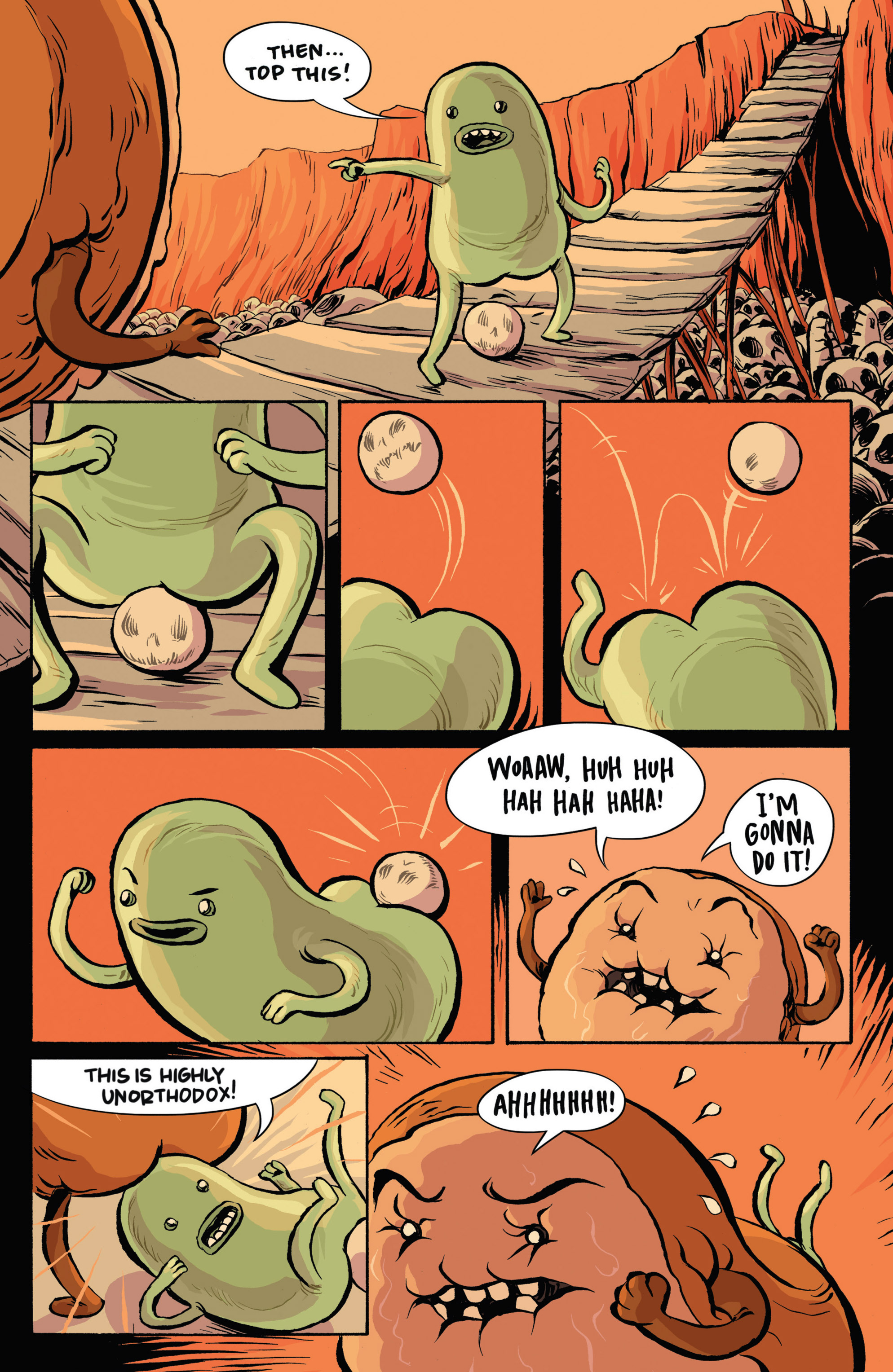 Read online Adventure Time: Candy Capers comic -  Issue #3 - 13