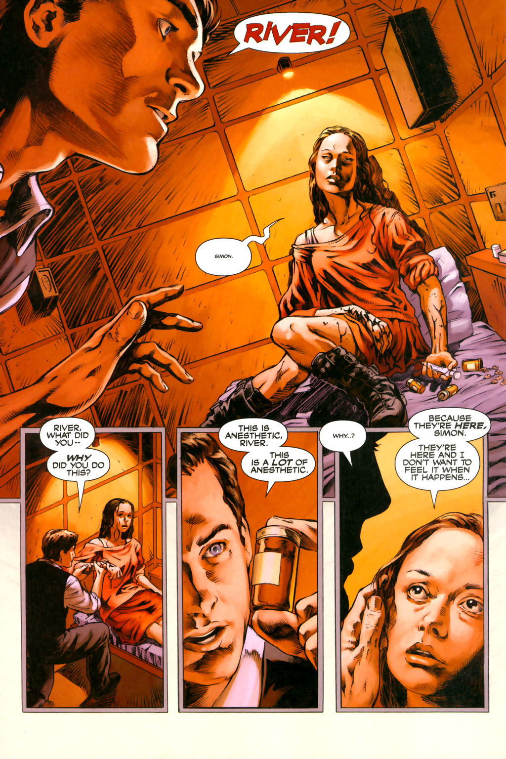 Read online Serenity comic -  Issue #3 - 8