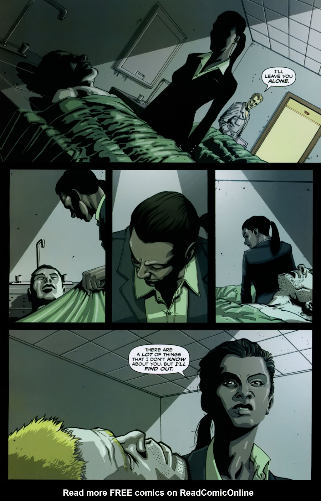 Read online Lazarus (2007) comic -  Issue #1 - 25