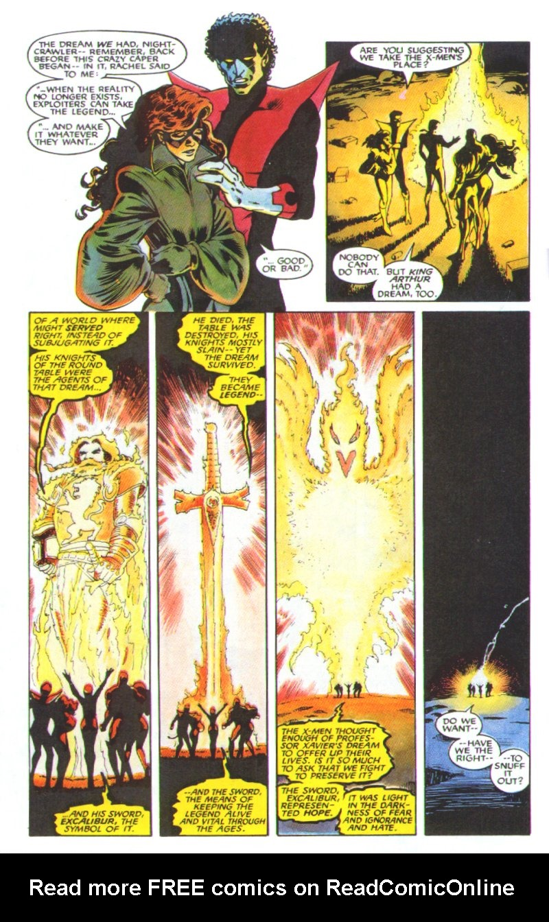 Read online Excalibur: The Sword is Drawn comic -  Issue # Full - 47