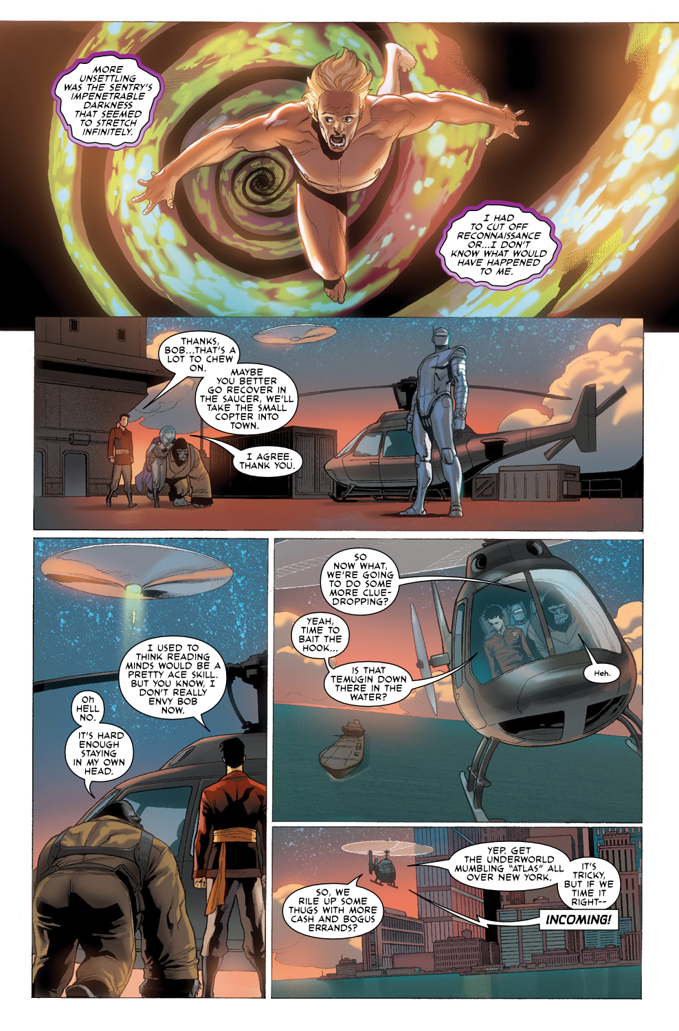Read online Agents Of Atlas (2009) comic -  Issue #3 - 22