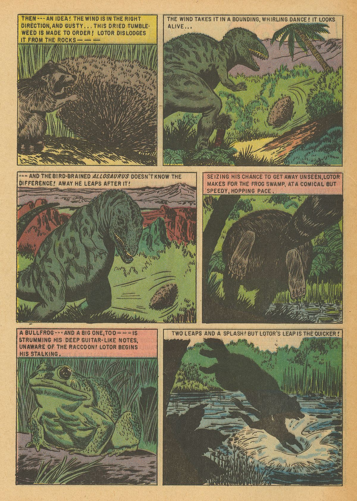 Read online Turok, Son of Stone comic -  Issue #6 - 32