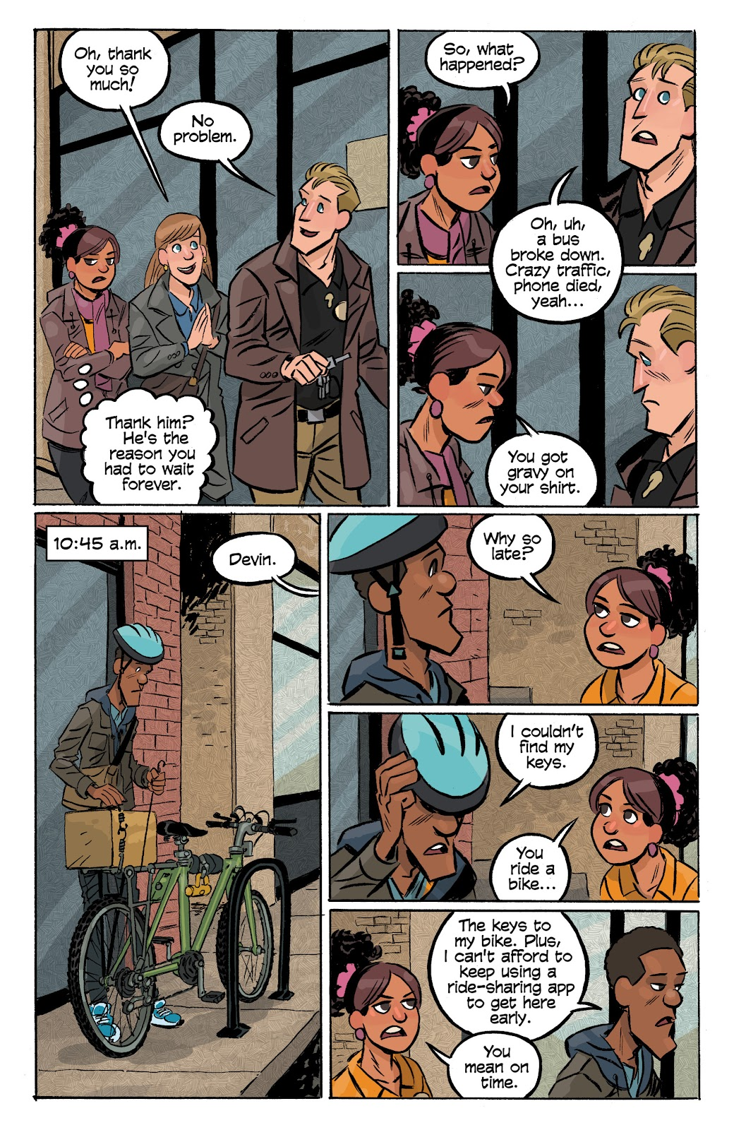 Read online Cellies comic -  Issue #8 - 6