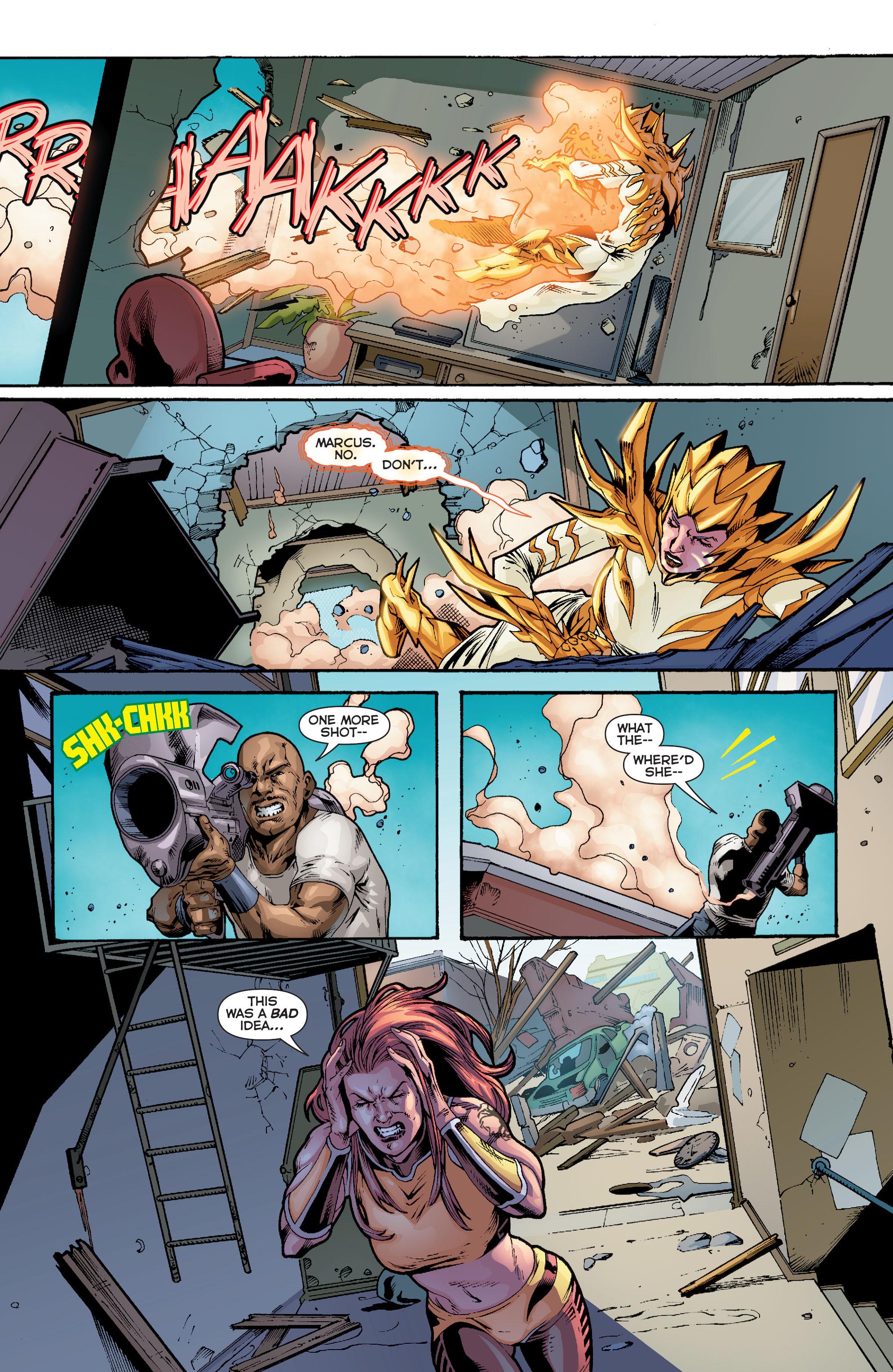 Read online Trinity of Sin: Pandora comic -  Issue #10 - 20