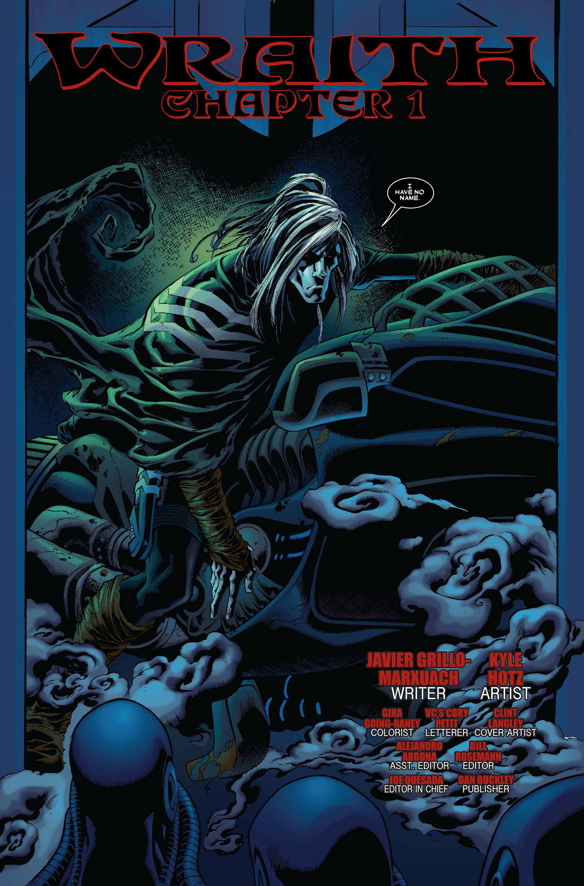 Read online Annihilation: Conquest - Wraith comic -  Issue #1 - 4