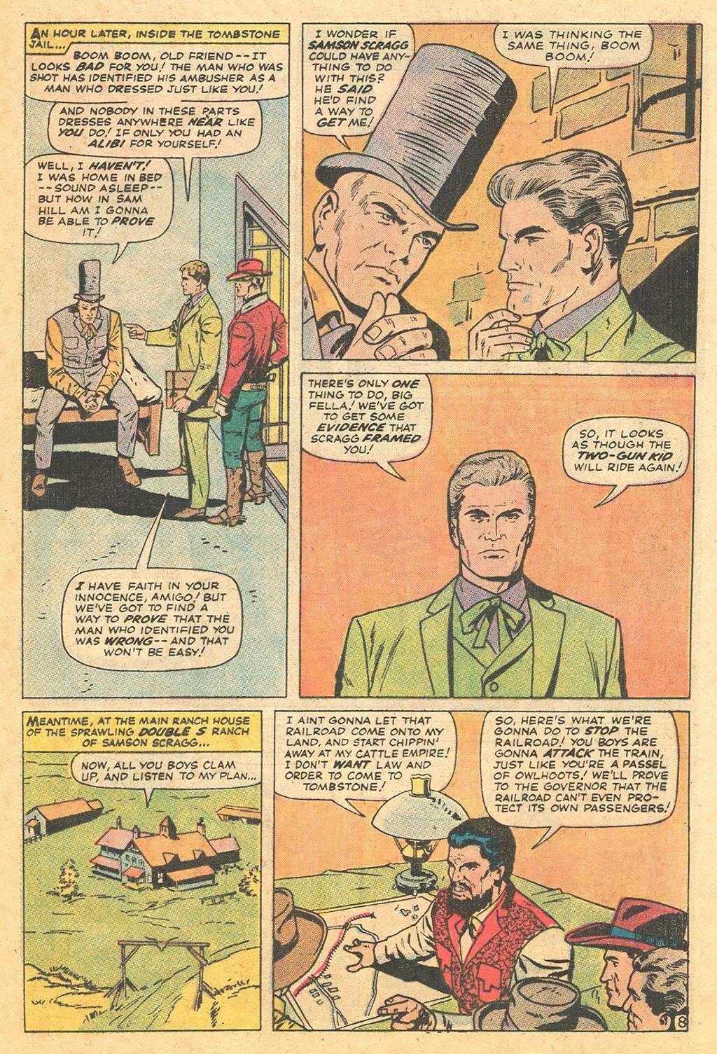 Read online Two-Gun Kid comic -  Issue #110 - 13