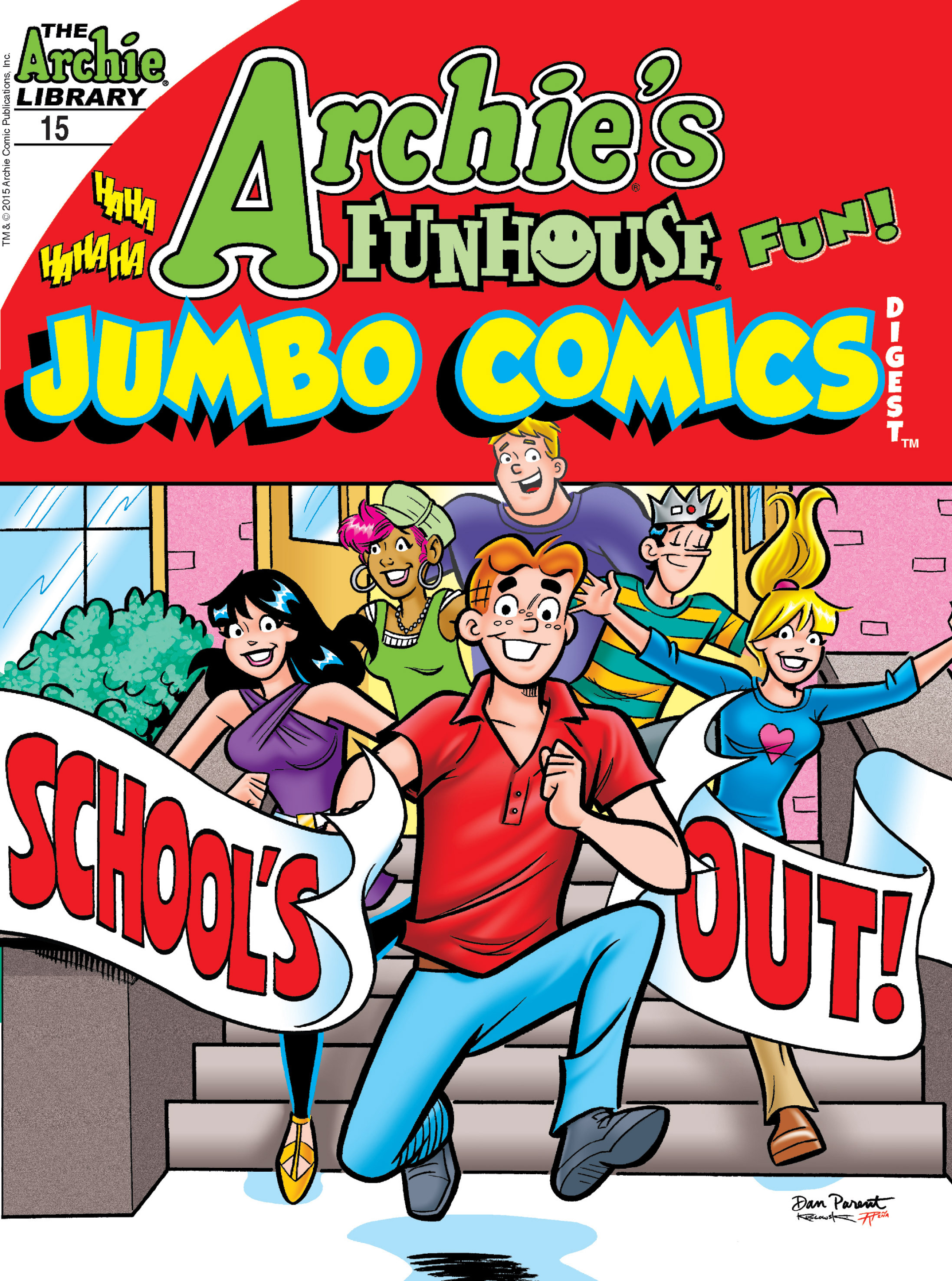 Read online Archie's Funhouse Double Digest comic -  Issue #15 - 1