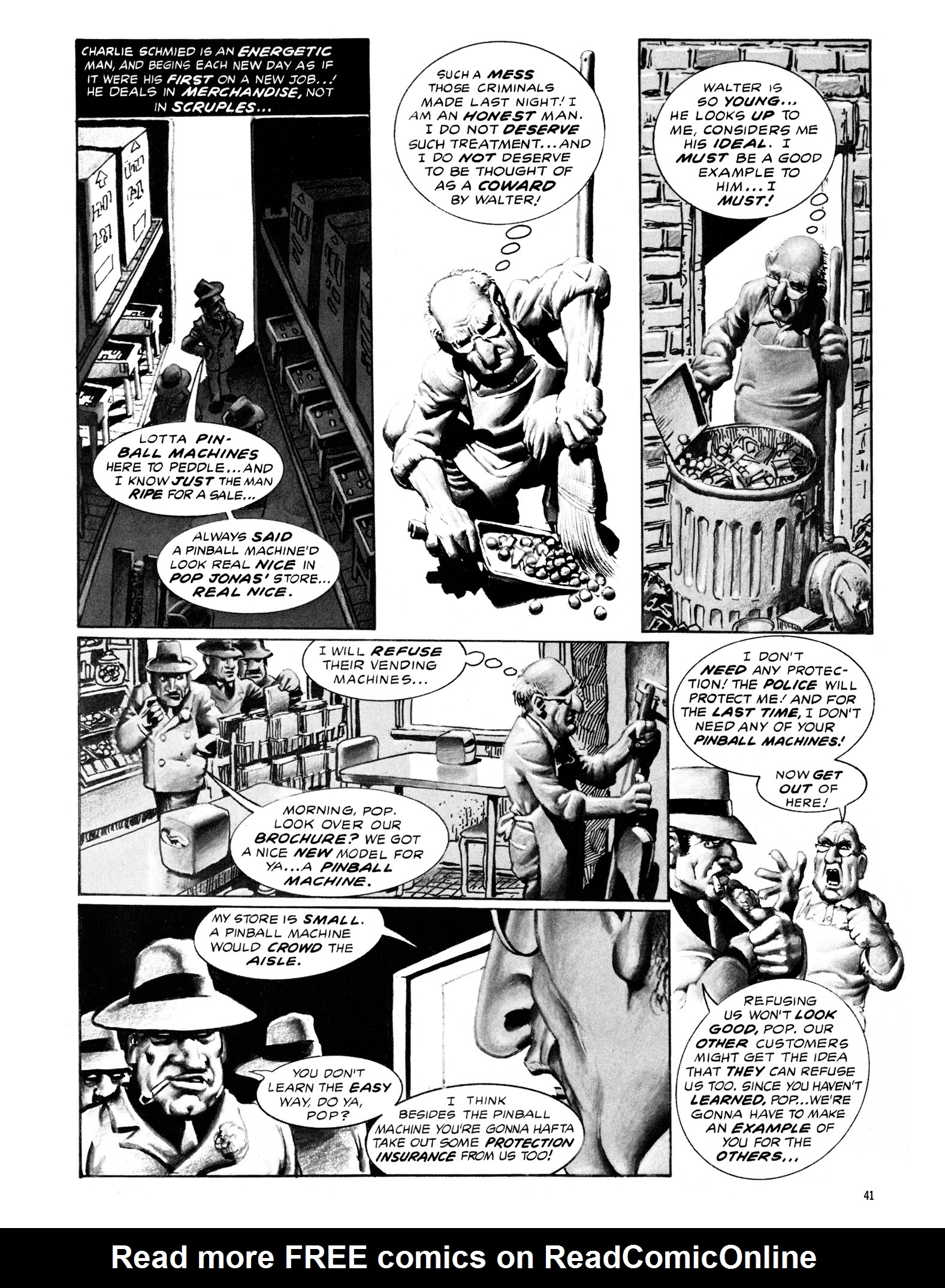 Read online Eerie Archives comic -  Issue # TPB 18 - 42