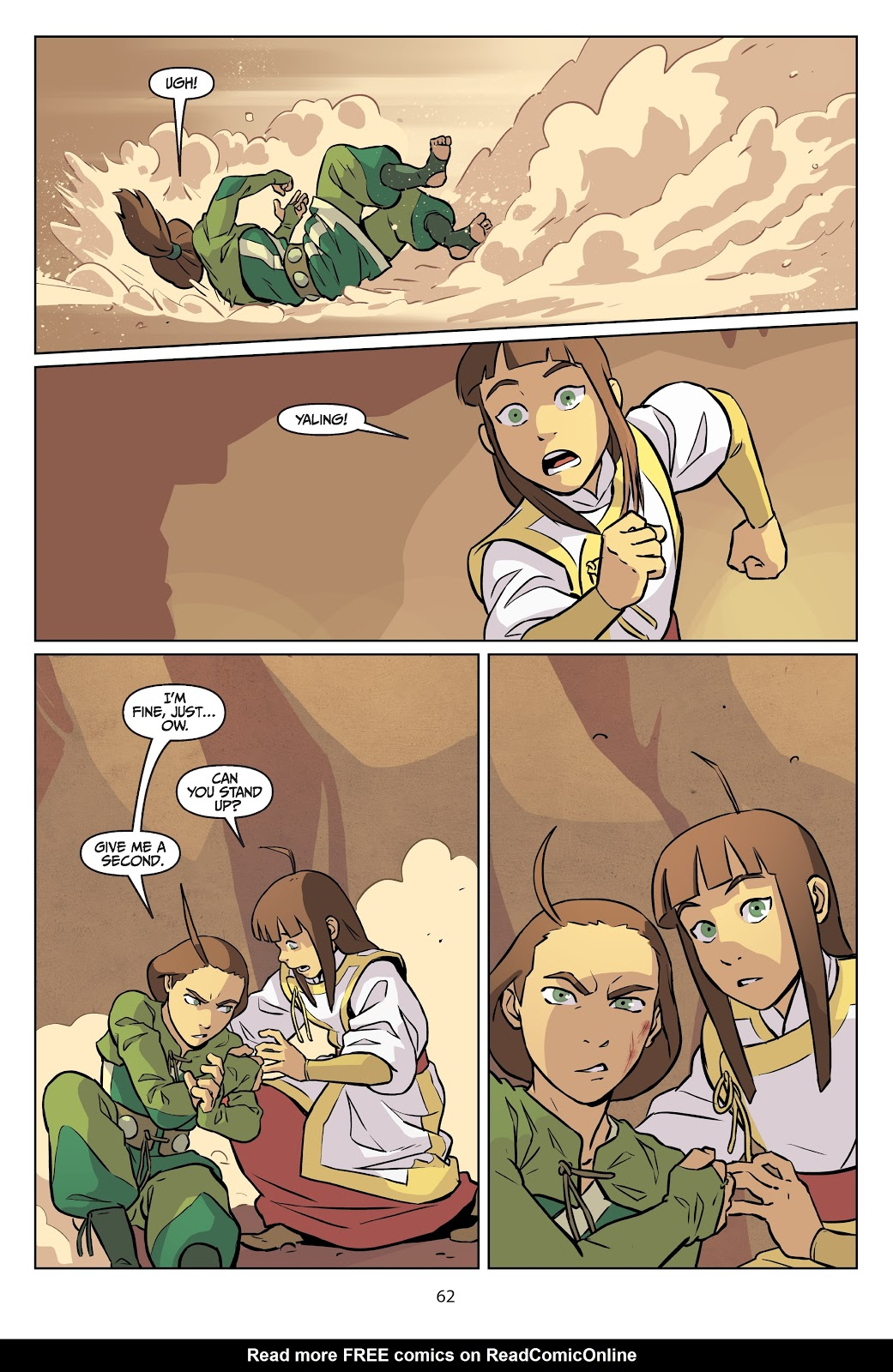 Read online Nickelodeon Avatar: The Last Airbender - Imbalance comic -  Issue # TPB 2 - 63