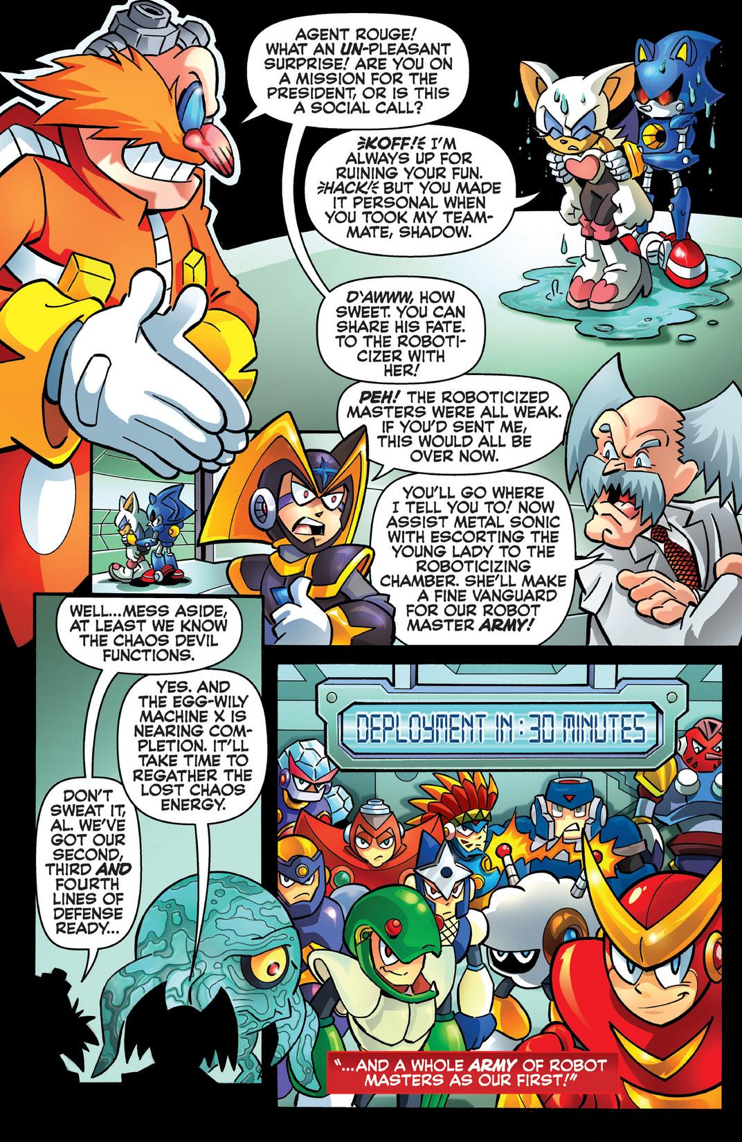 Read online Sonic Mega Man Worlds Collide comic -  Issue # Vol 2 - 103