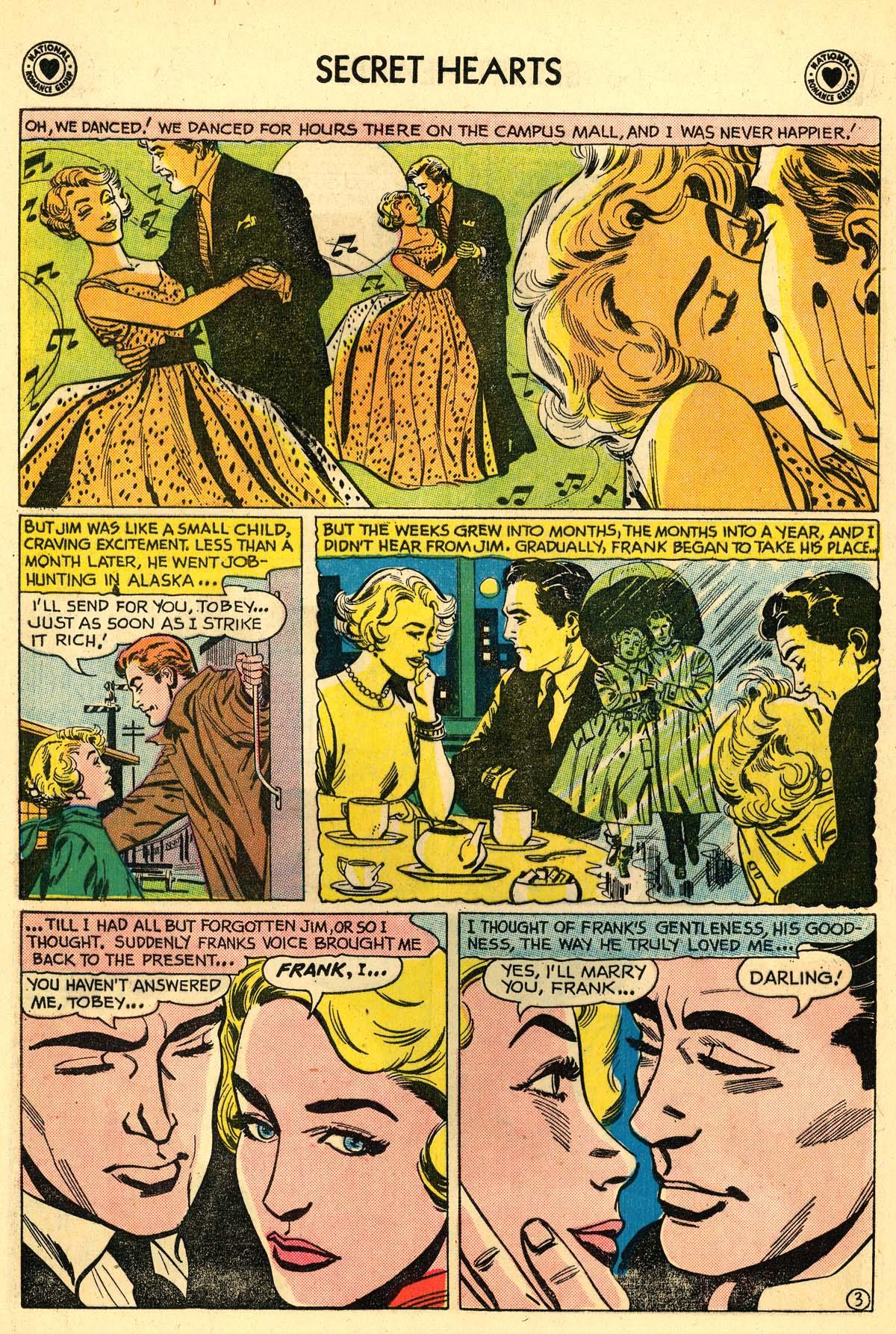 Read online Secret Hearts comic -  Issue #59 - 20