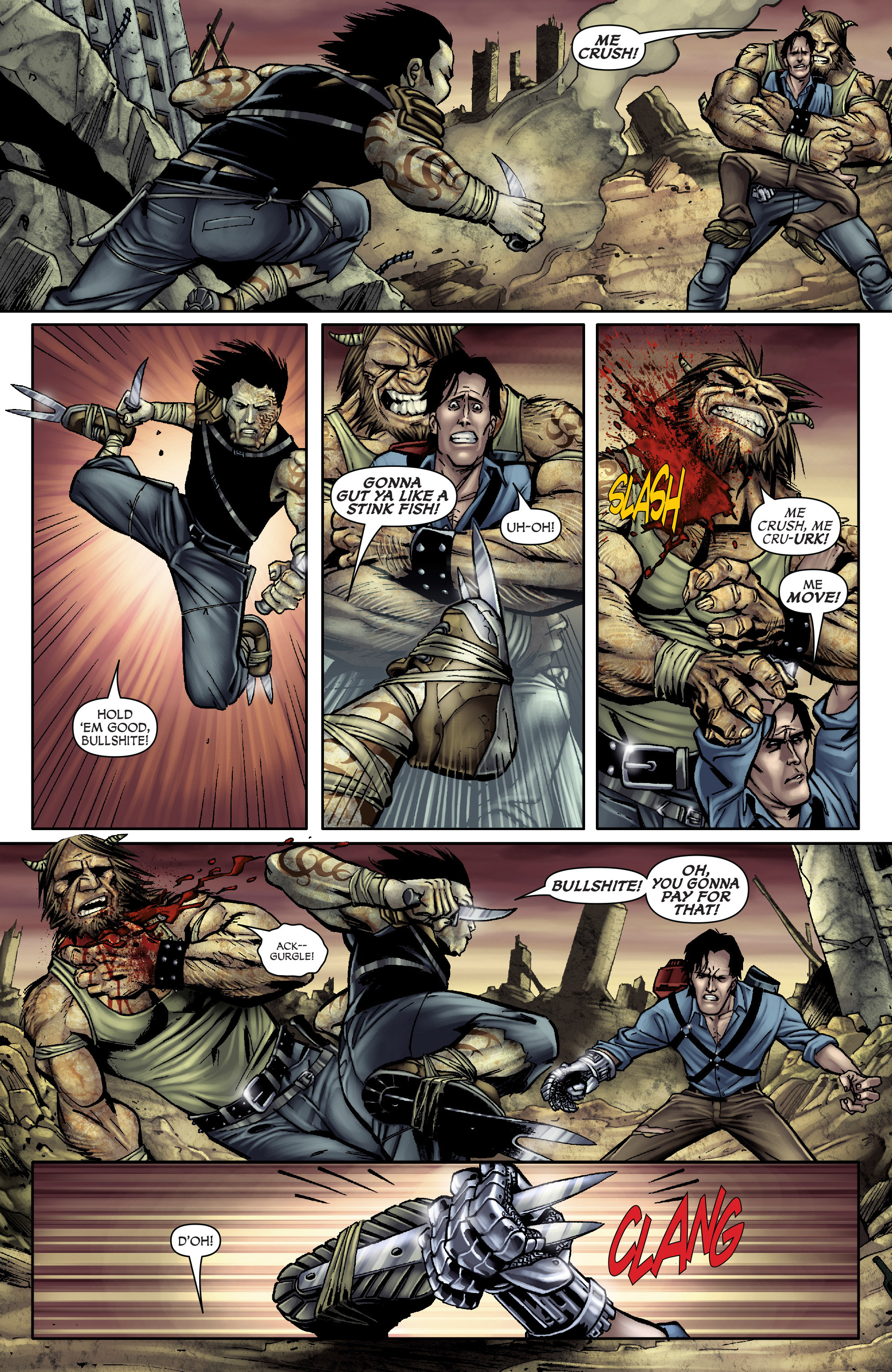Read online Army of Darkness: From the Ashes comic -  Issue #Army of Darkness: From the Ashes TPB - 17