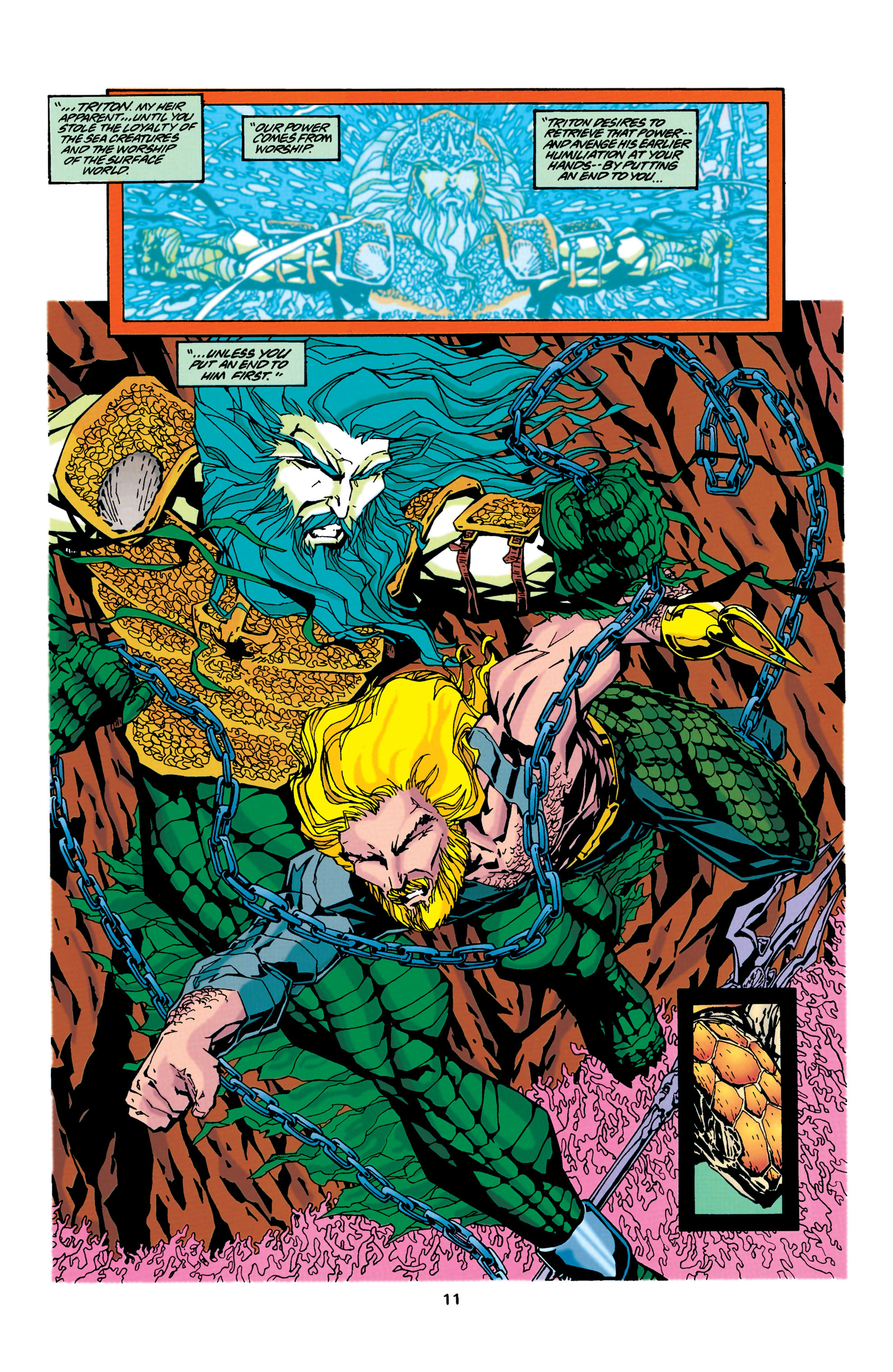 Read online Aquaman (1994) comic -  Issue #34 - 10