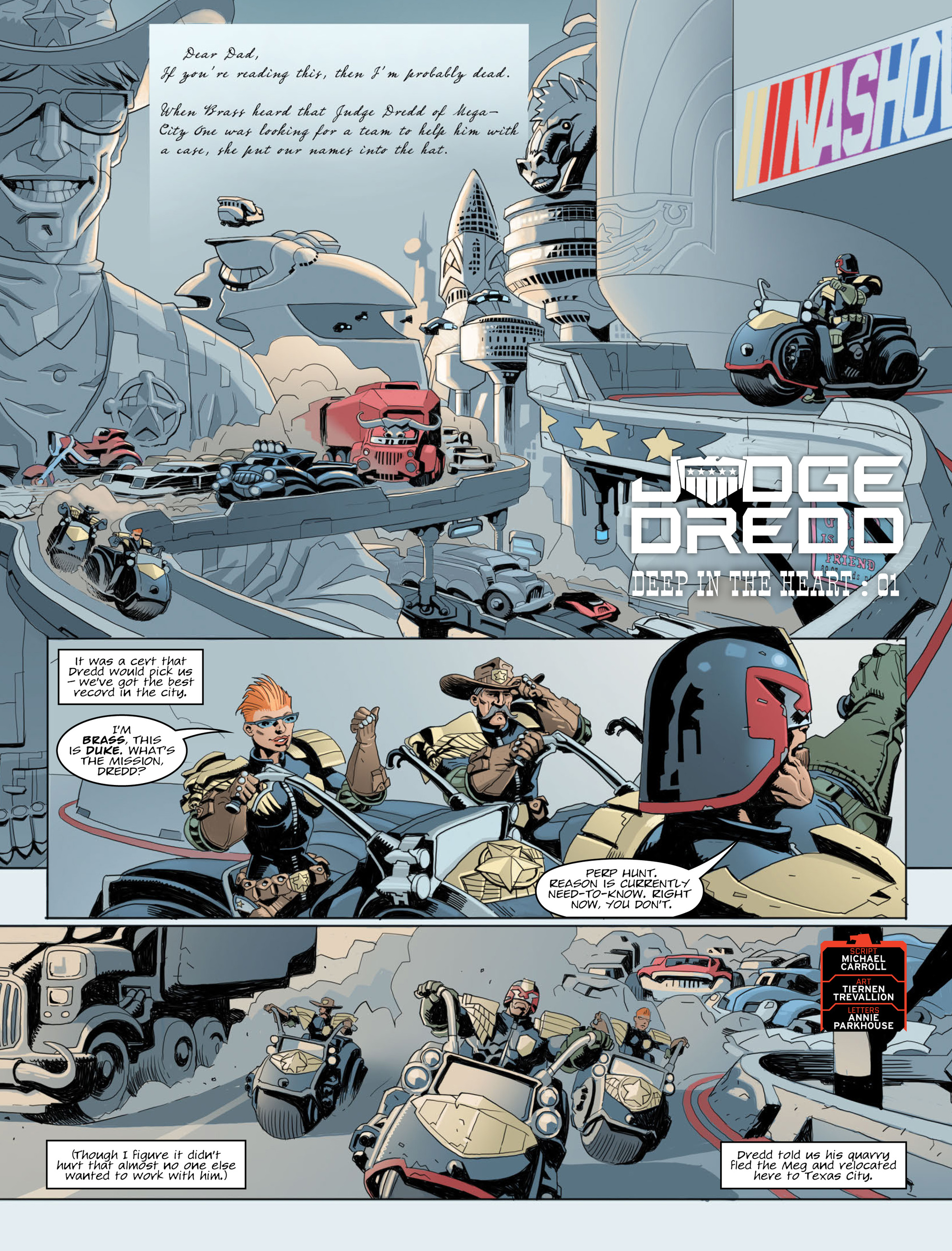 Read online 2000 AD comic -  Issue #2012 - 3