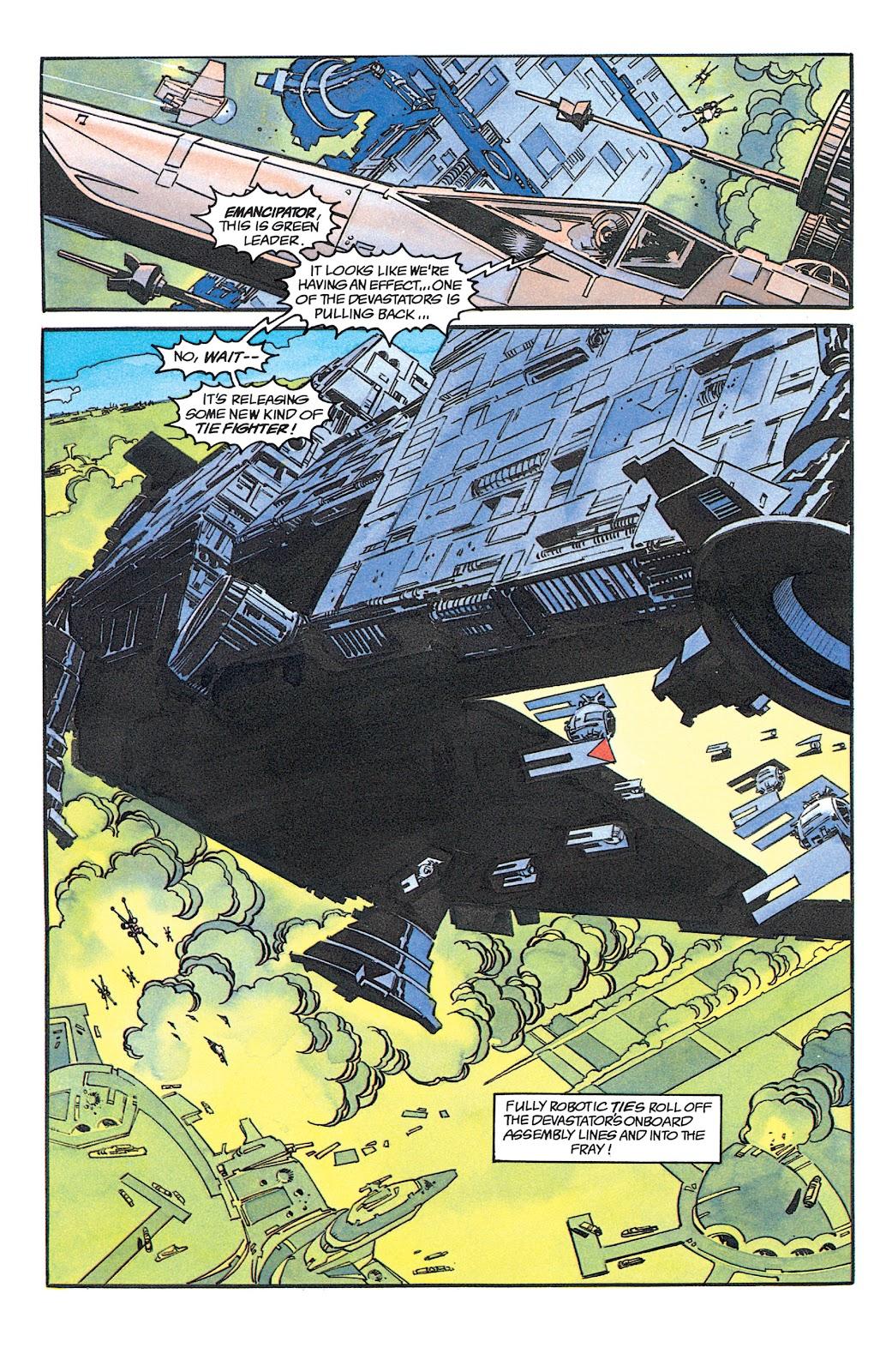 Read online Star Wars: Dark Empire Trilogy comic -  Issue # TPB (Part 1) - 62
