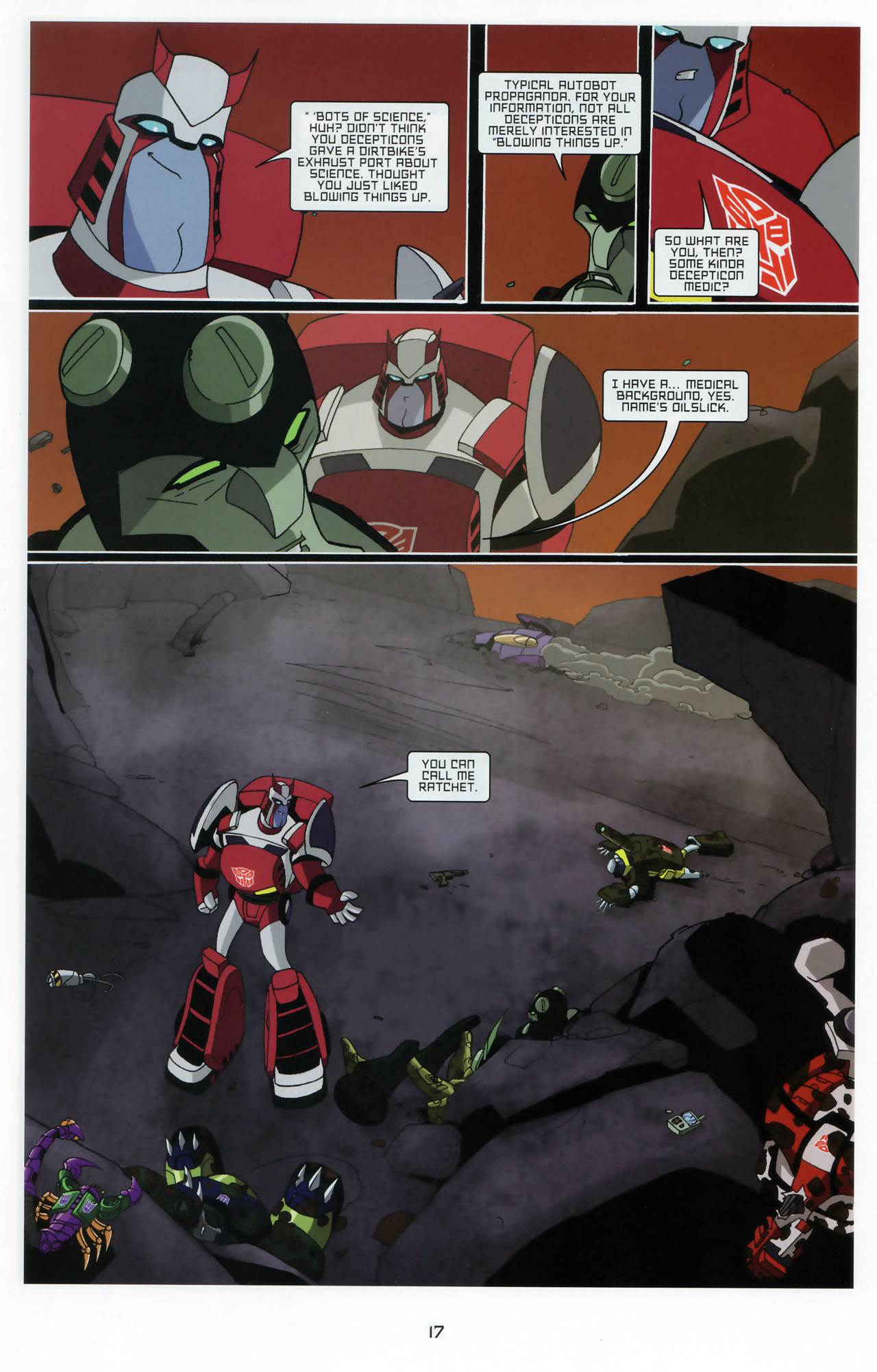 Read online Transformers Animated: The Arrival comic -  Issue #3 - 19