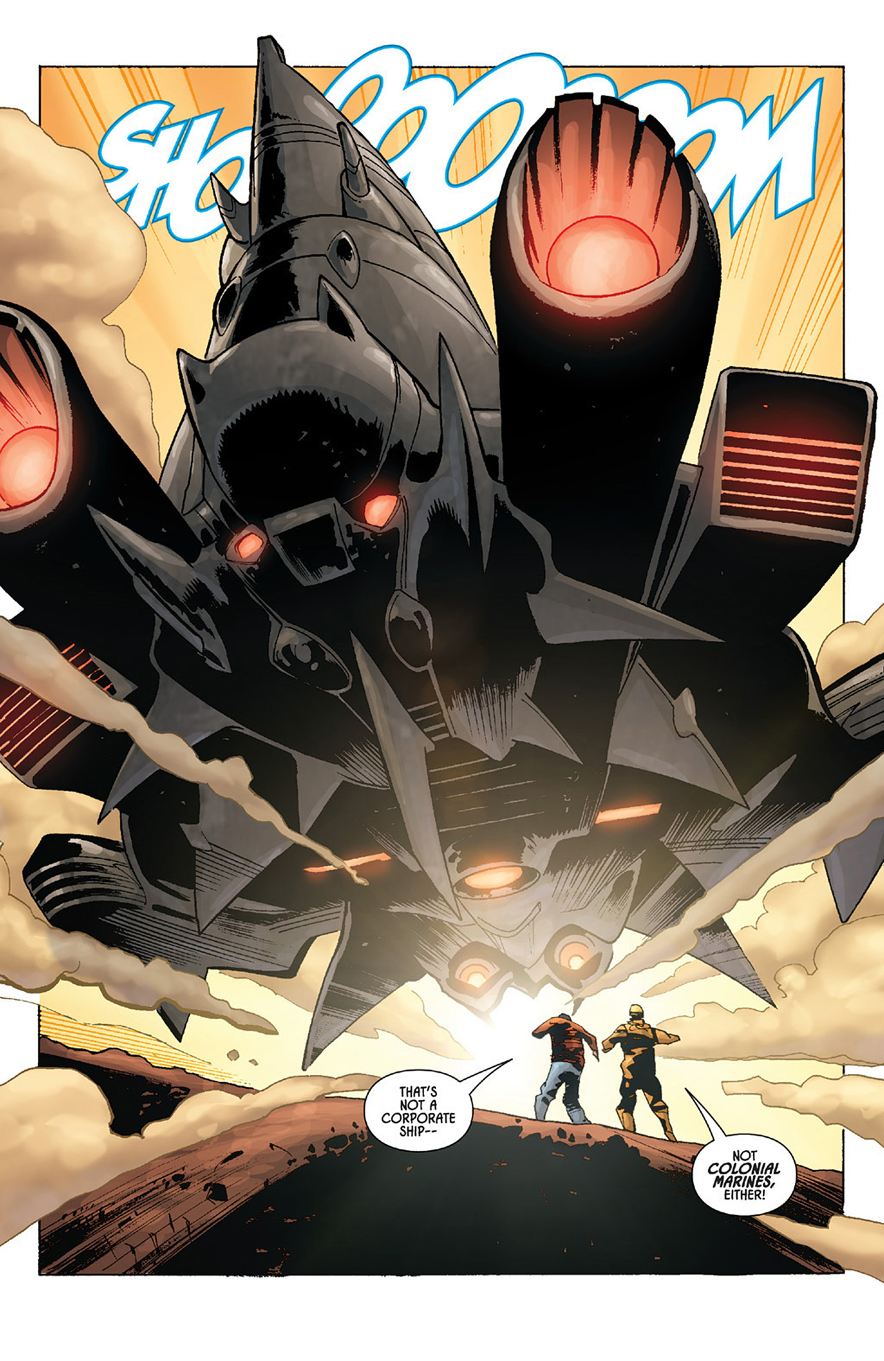 Read online Aliens vs. Predator: Three World War comic -  Issue #1 - 5