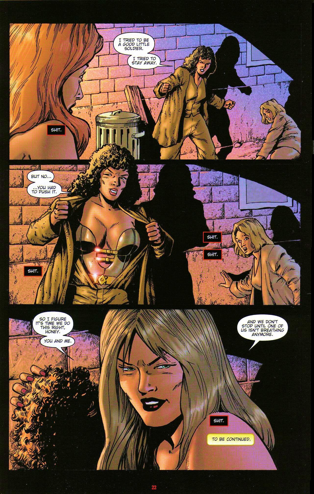 Read online Dominatrix comic -  Issue #5 - 24