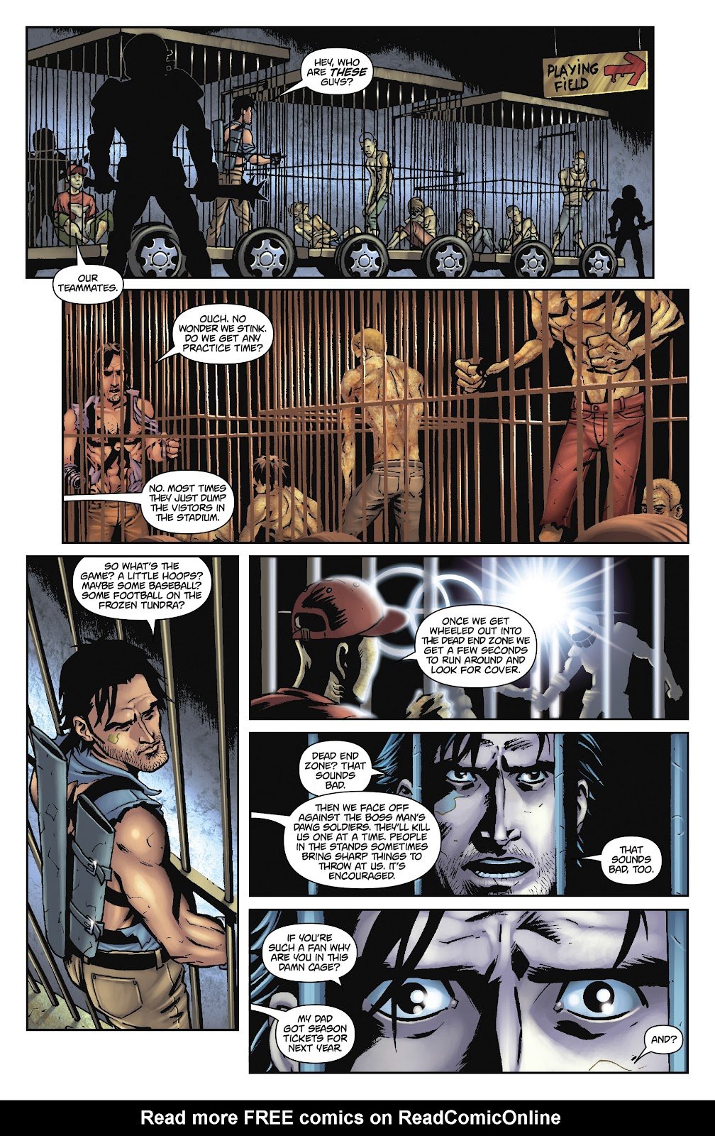 Army of Darkness: The Long Road Home issue TPB - Page 47