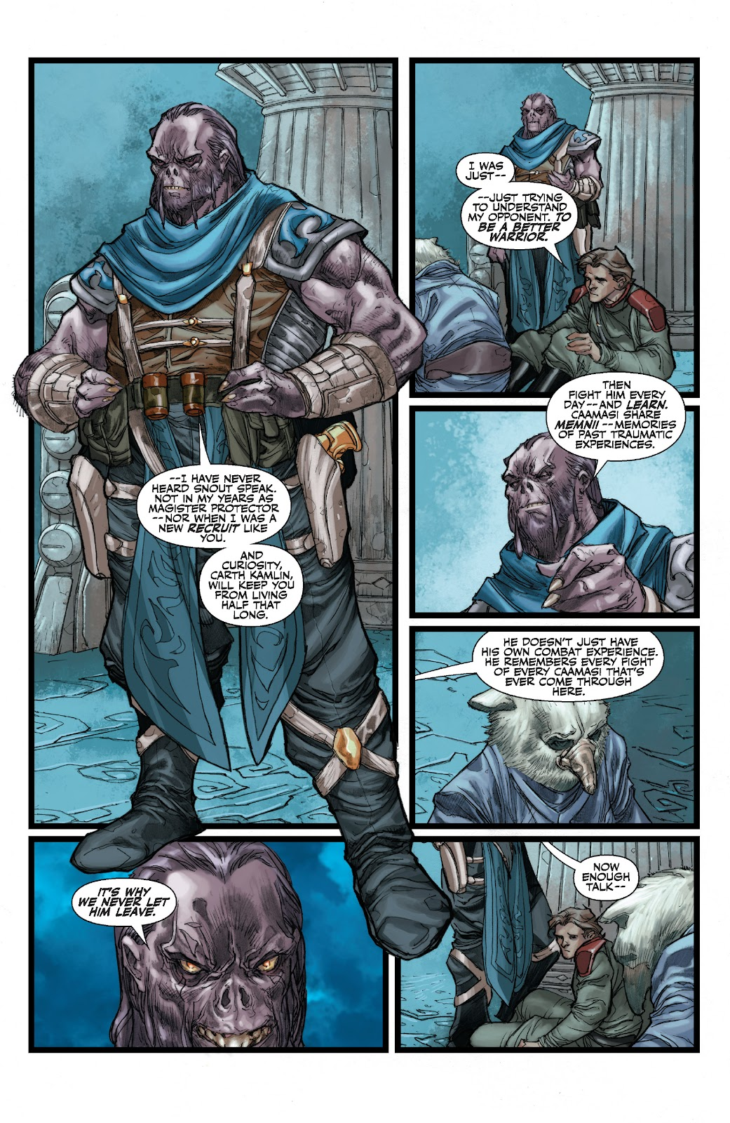 Read online Star Wars Legends: The Old Republic - Epic Collection comic -  Issue # TPB 3 (Part 2) - 78