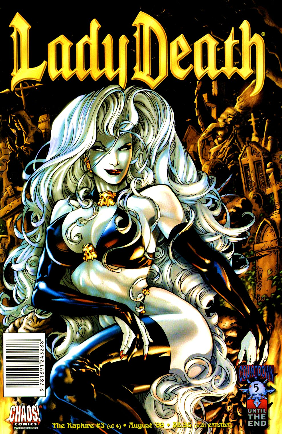 Lady Death: The Rapture issue 3 - Page 1