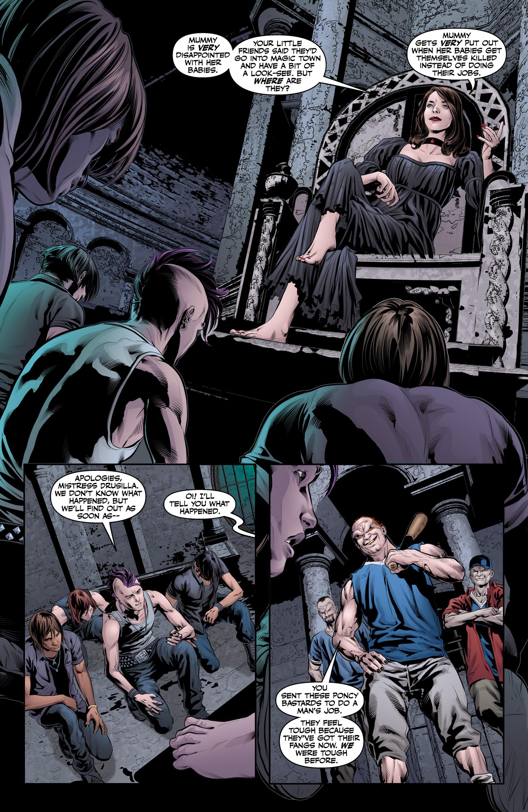 Read online Angel & Faith Season 10 comic -  Issue #19 - 12