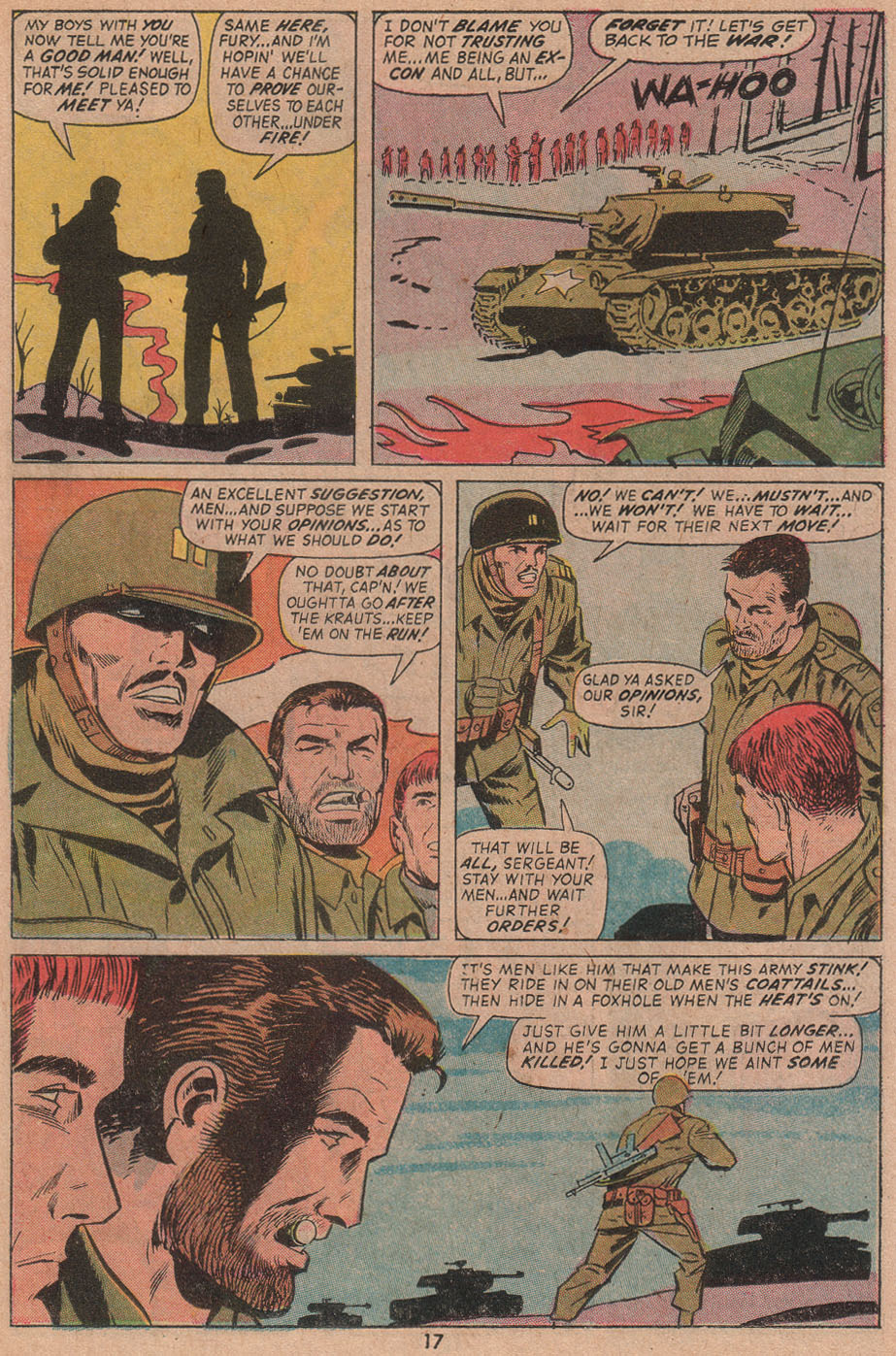 Read online Sgt. Fury comic -  Issue #104 - 19