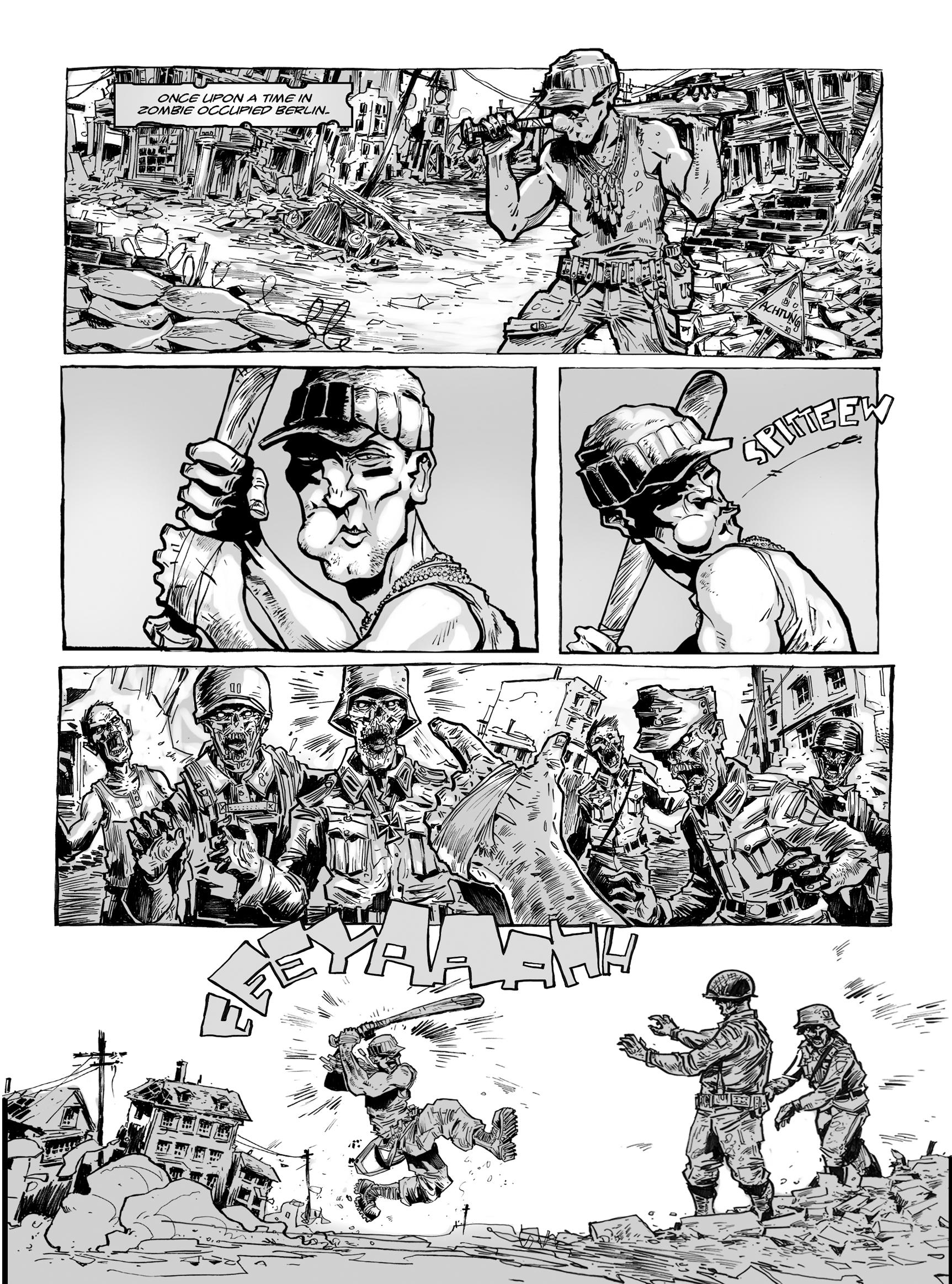 Read online FUBAR comic -  Issue #1 - 164
