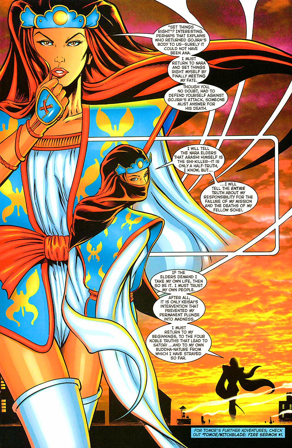 Read online Shi: The Way of the Warrior comic -  Issue #10 - 22