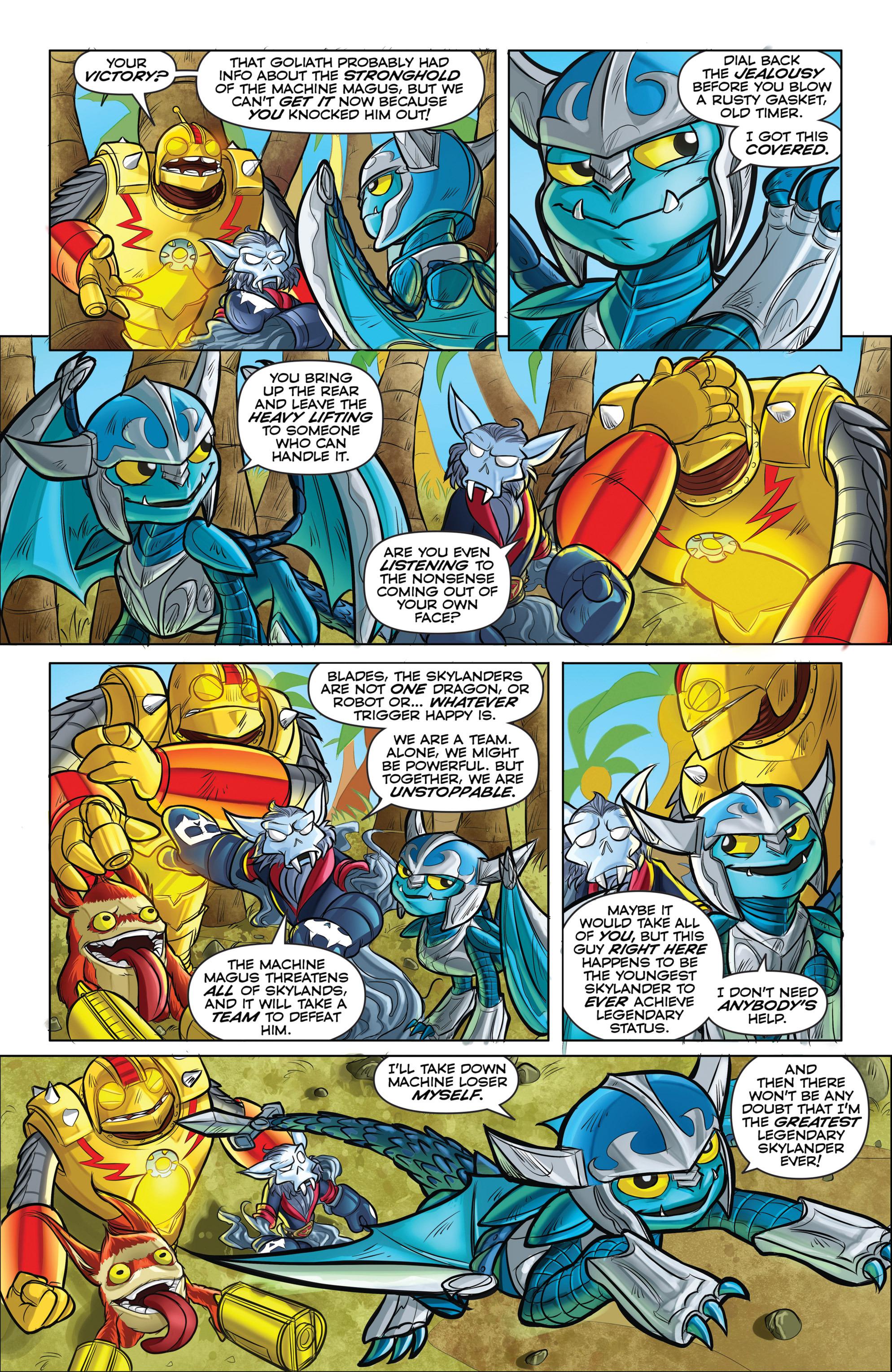 Read online Skylanders comic -  Issue #5 - 7