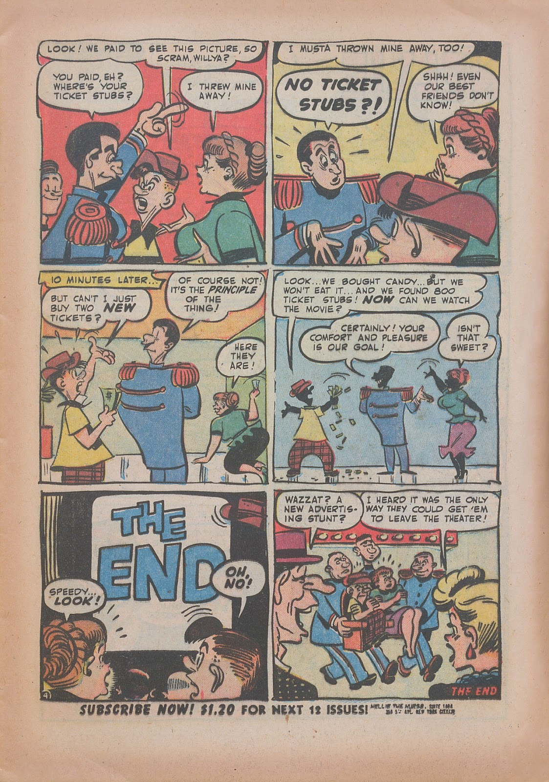 Read online Nellie The Nurse (1945) comic -  Issue #31 - 13