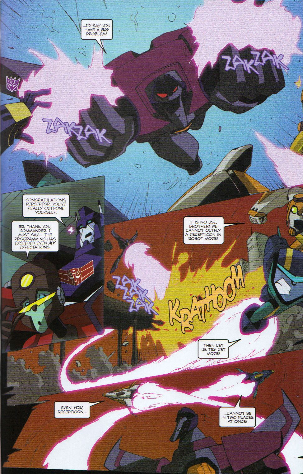 Read online Transformers Animated: The Arrival comic -  Issue #6 - 19