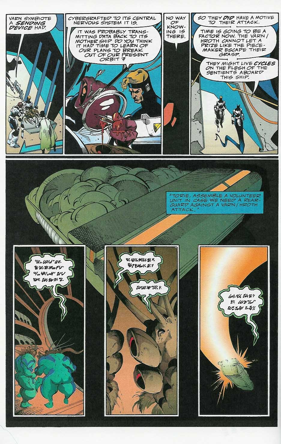 Alien Legion: On the Edge issue 2 - Page 35