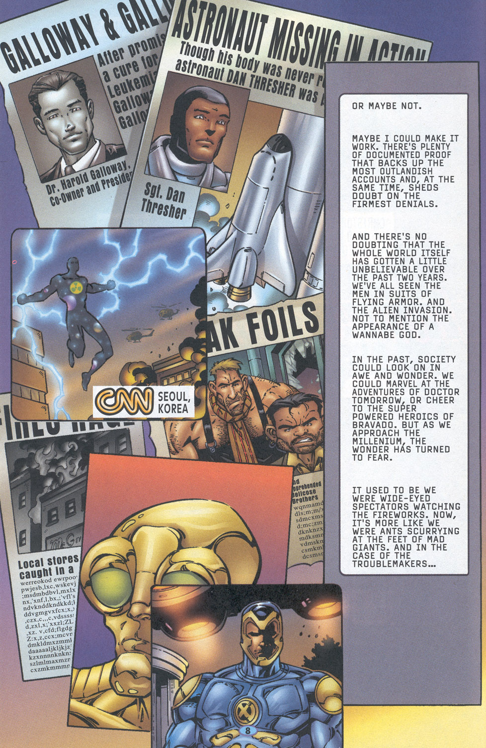 Read online Troublemakers comic -  Issue #16 - 7