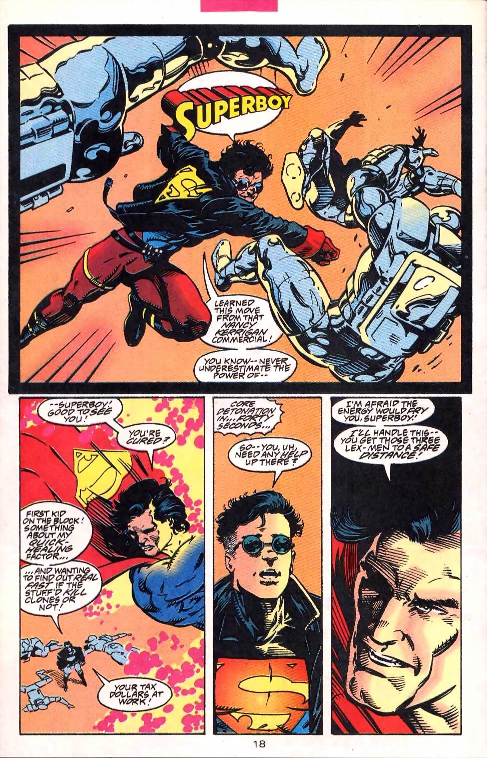 Read online Adventures of Superman (1987) comic -  Issue #513 - 19