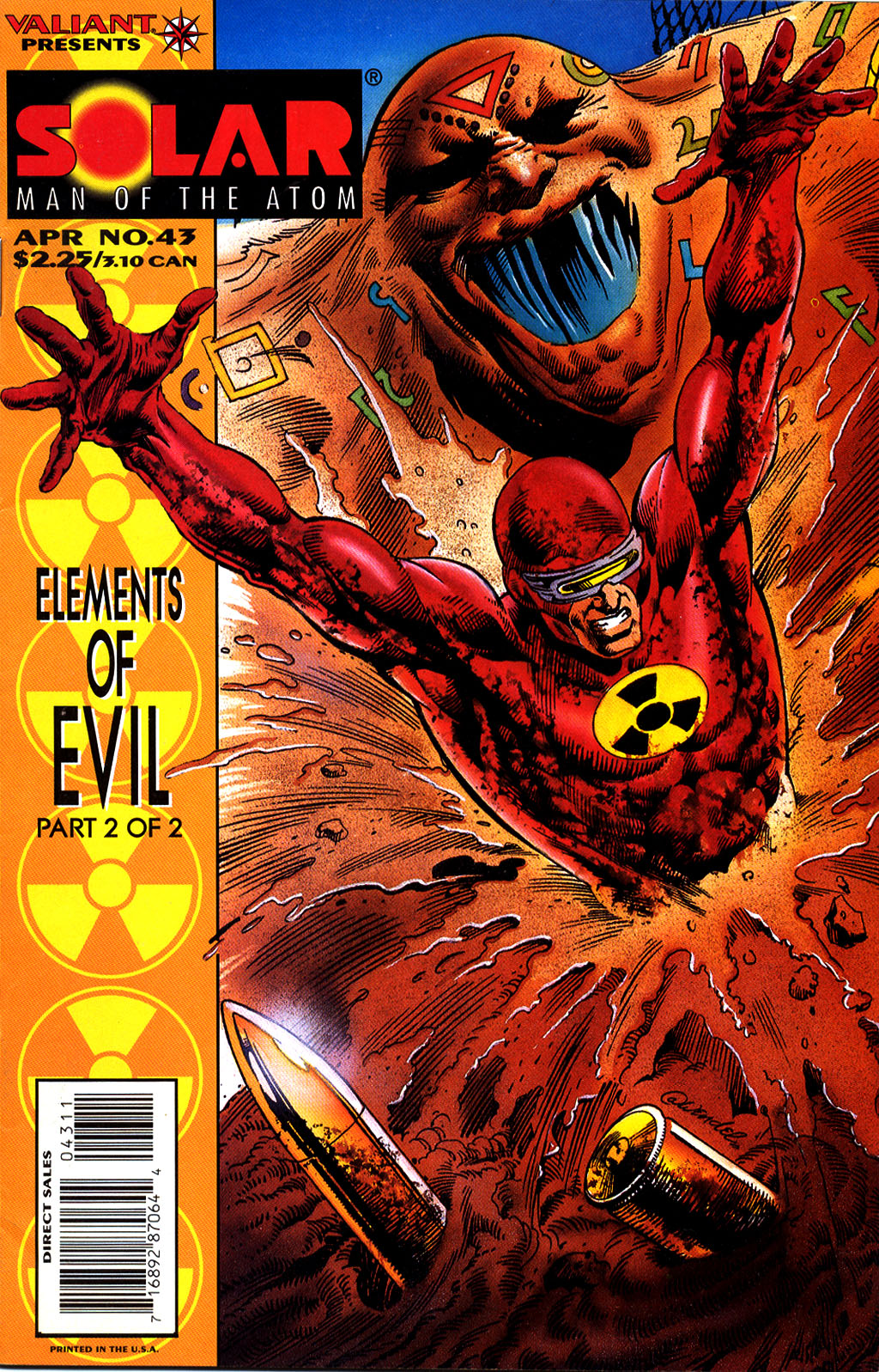 Read online Solar, Man of the Atom comic -  Issue #43 - 1