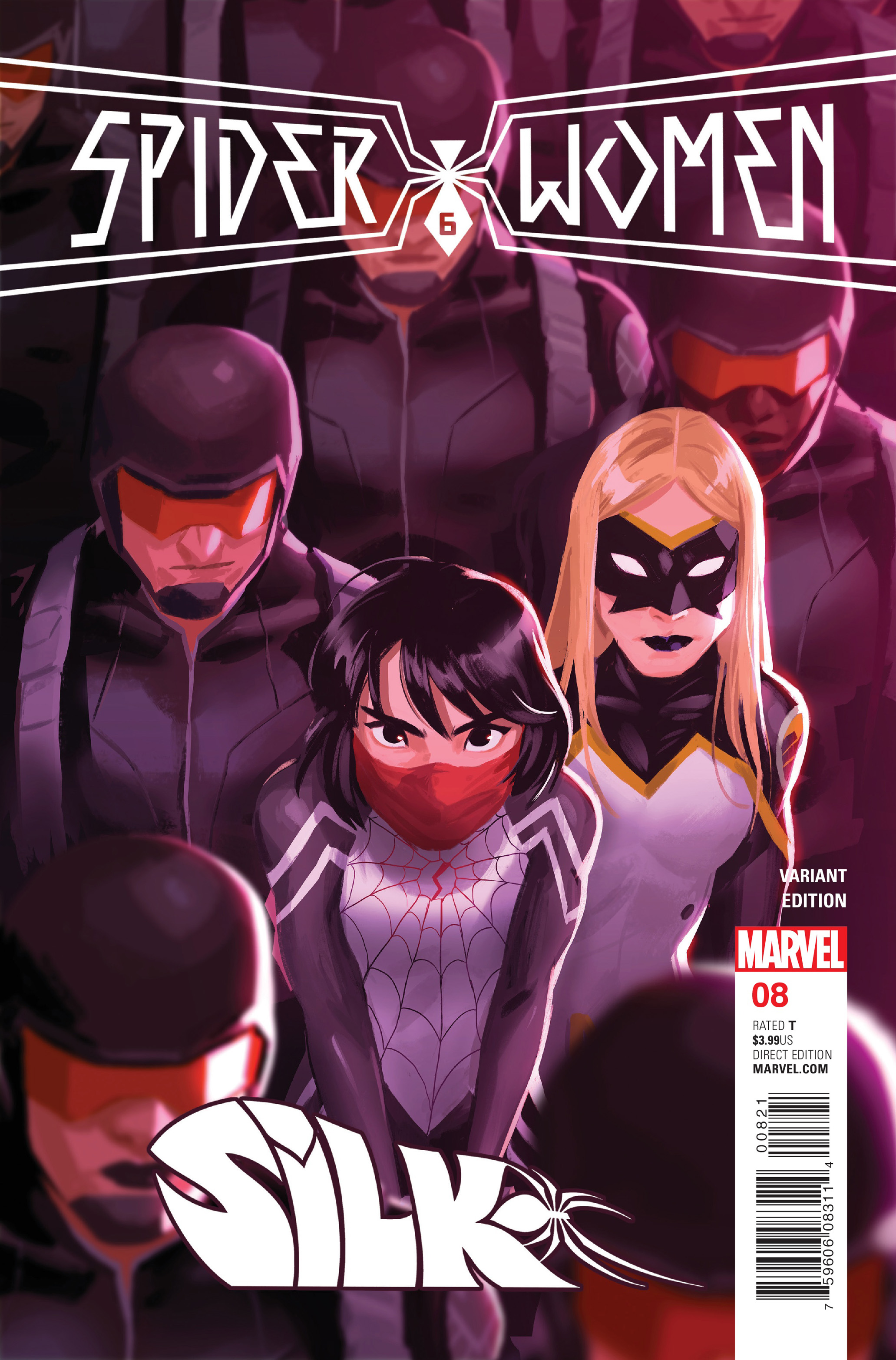 Read online Silk (2016) comic -  Issue #8 - 2
