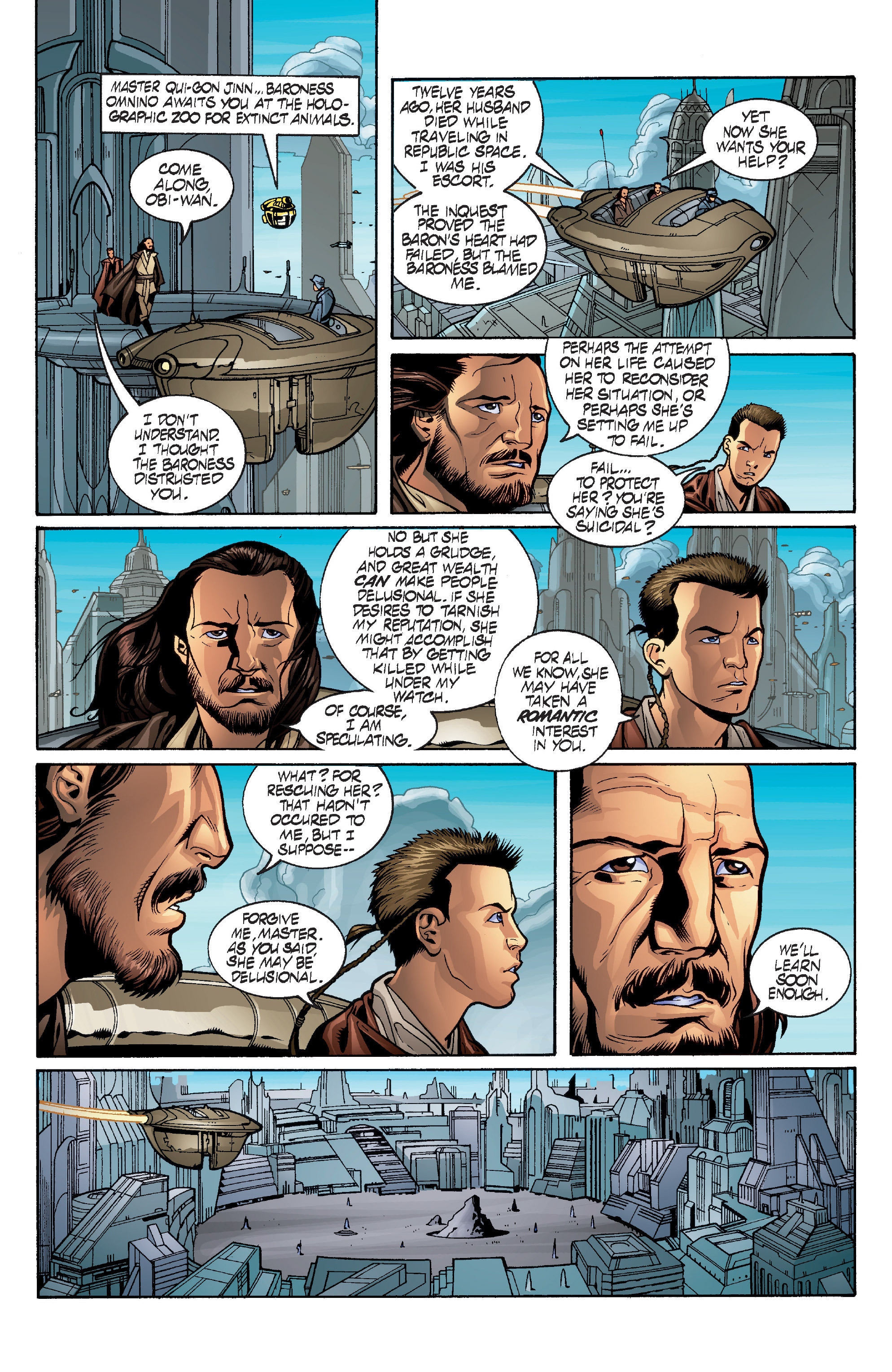Read online Star Wars: Qui-Gon & Obi-Wan - Last Stand on Ord Mantell comic -  Issue #1 - 9