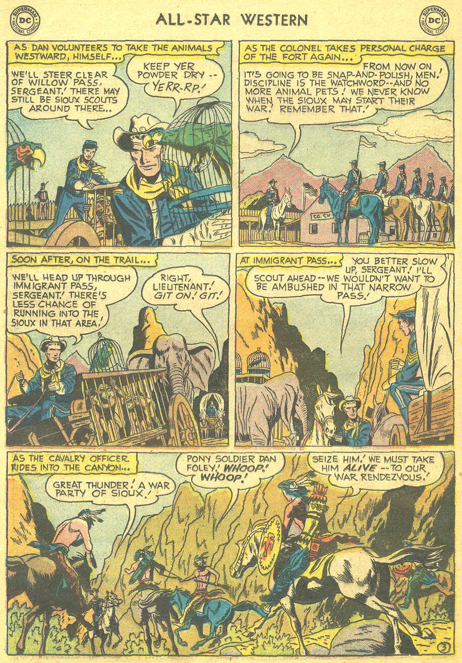 Read online All-Star Western (1951) comic -  Issue #88 - 20