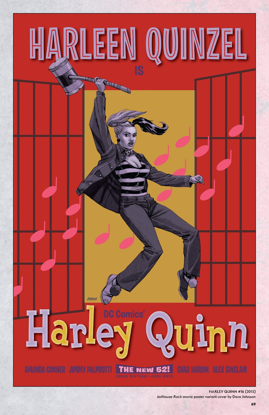 Read online Harley Quinn: A Rogue's Gallery―The Deluxe Cover Art Collection comic -  Issue # TPB (Part 1) - 66